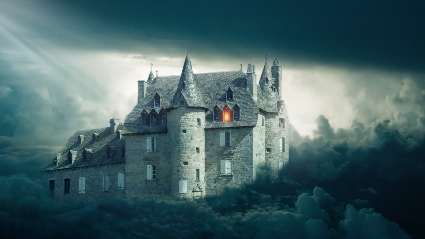 Gothic castle | 1366x768 wallpaper