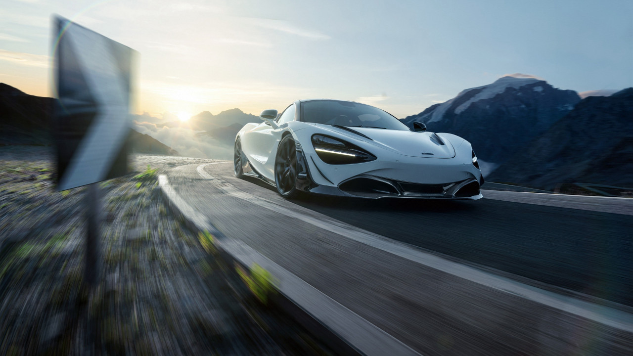 McLaren 720S in motion | 1280x720 wallpaper