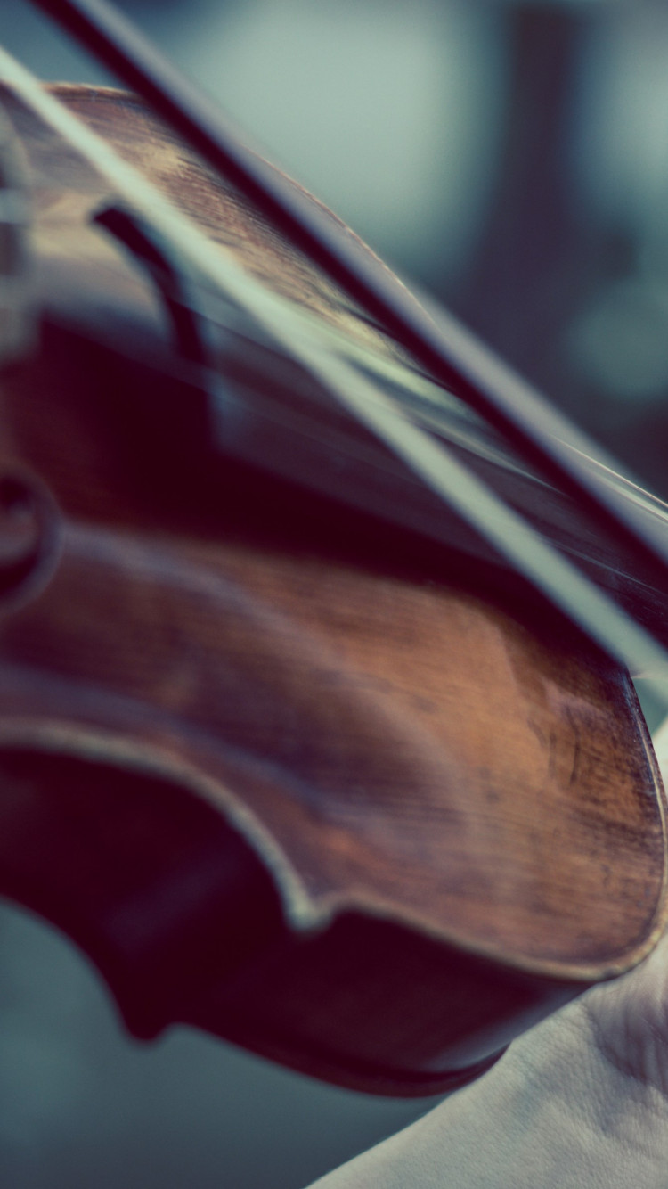 Violin wallpaper 750x1334