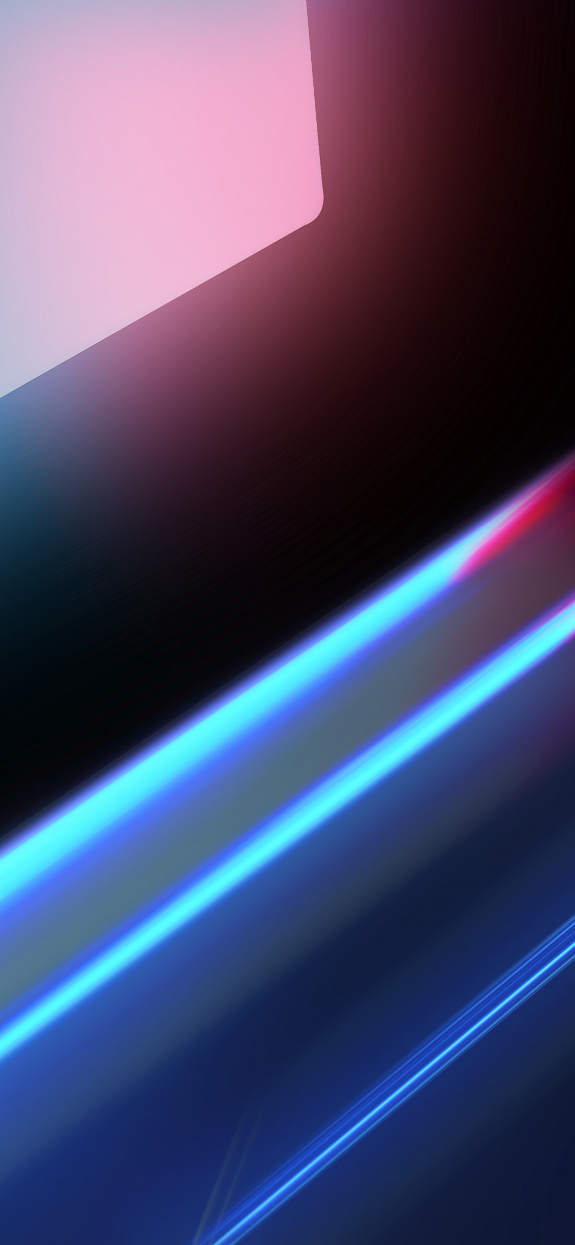 Abstract blue red lights wallpaper 1125x2436