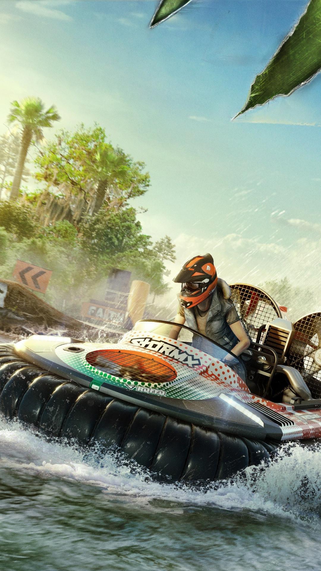 Download wallpaper: Gator Rush in The Crew 2 1080x1920