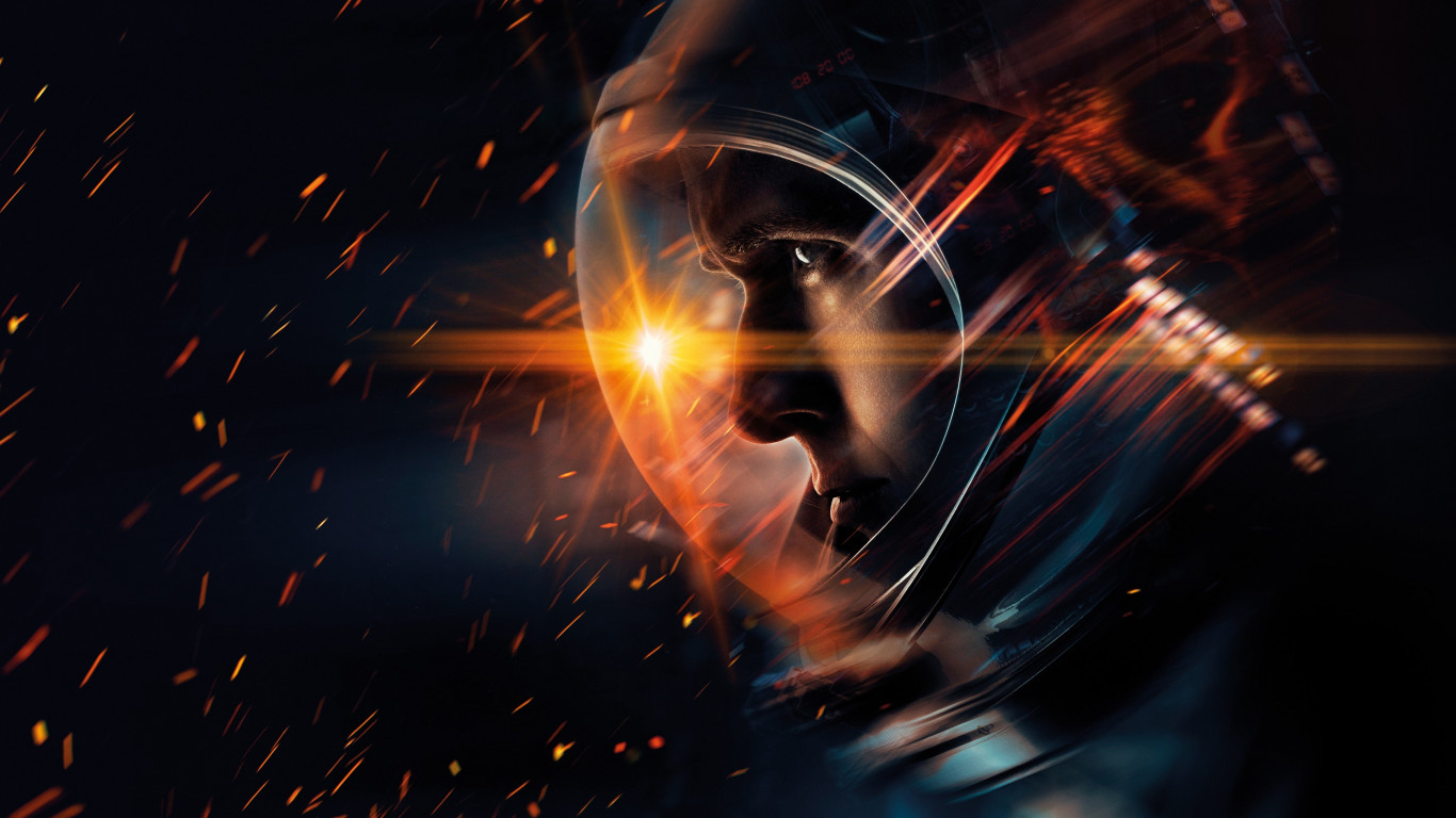 First Man wallpaper 1366x768