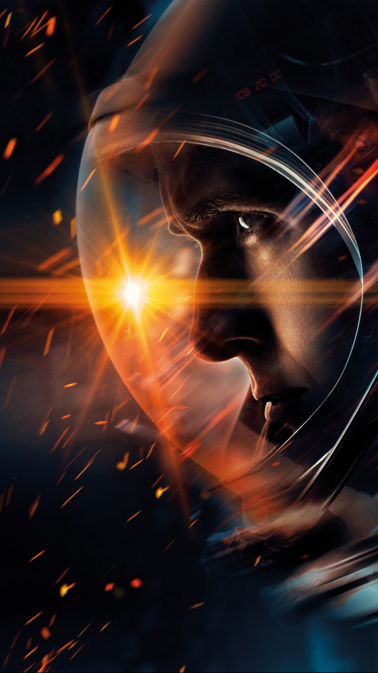 First Man wallpaper 750x1334