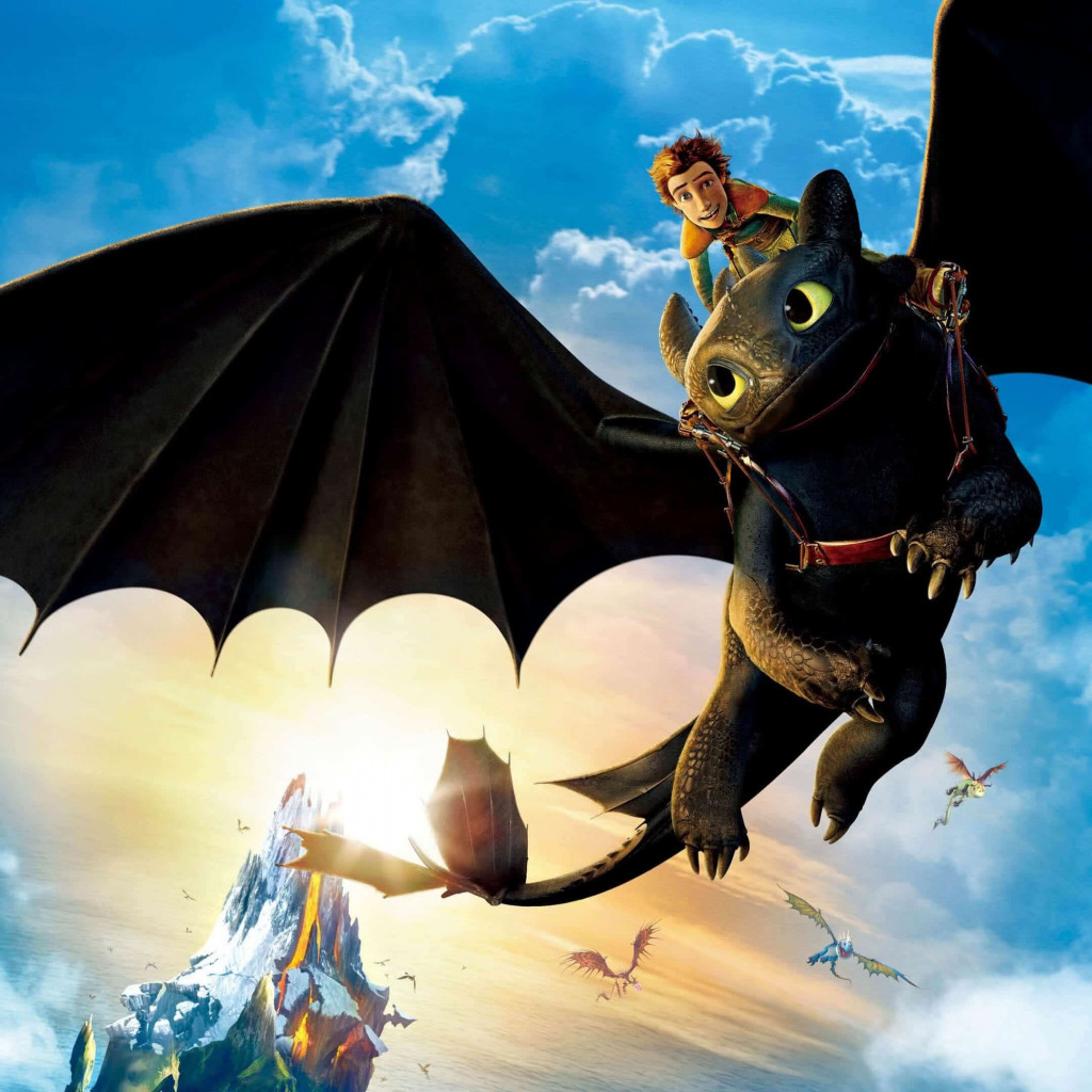 How to Train Your Dragon: The Hidden World wallpaper 1024x1024