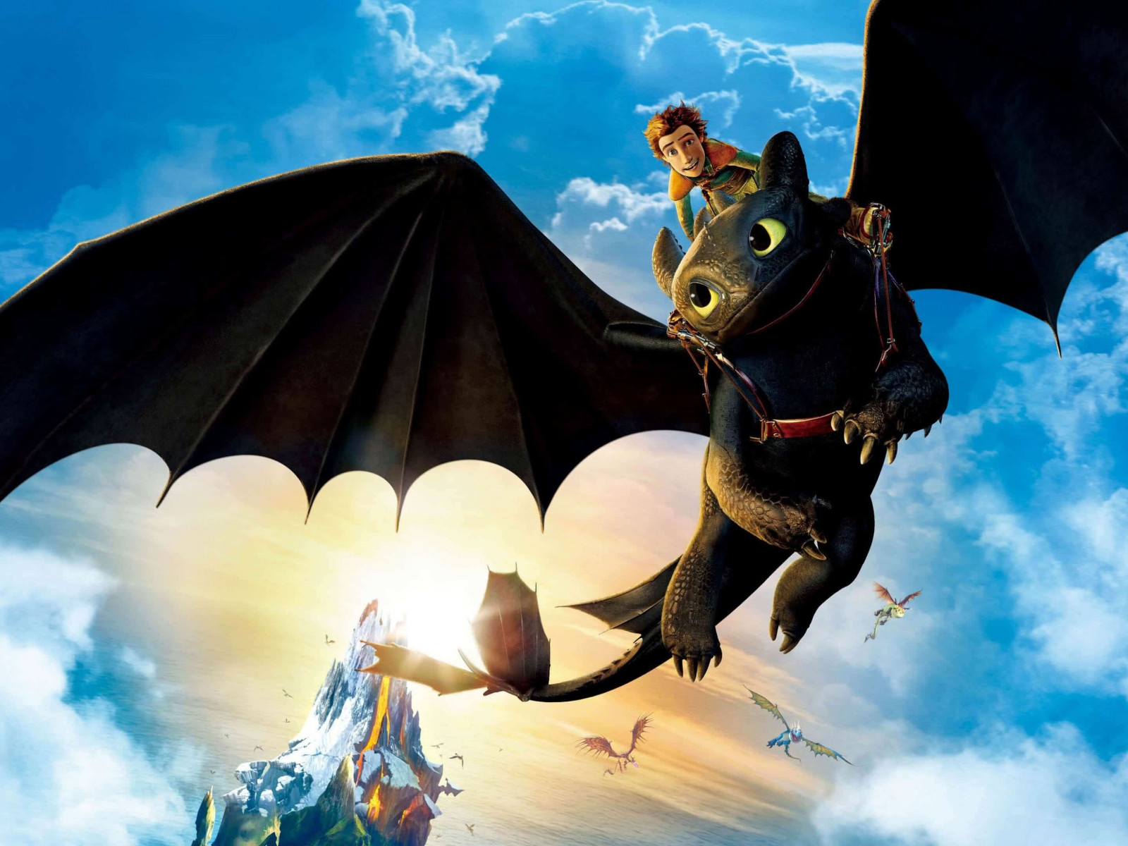 How to Train Your Dragon: The Hidden World wallpaper 1600x1200