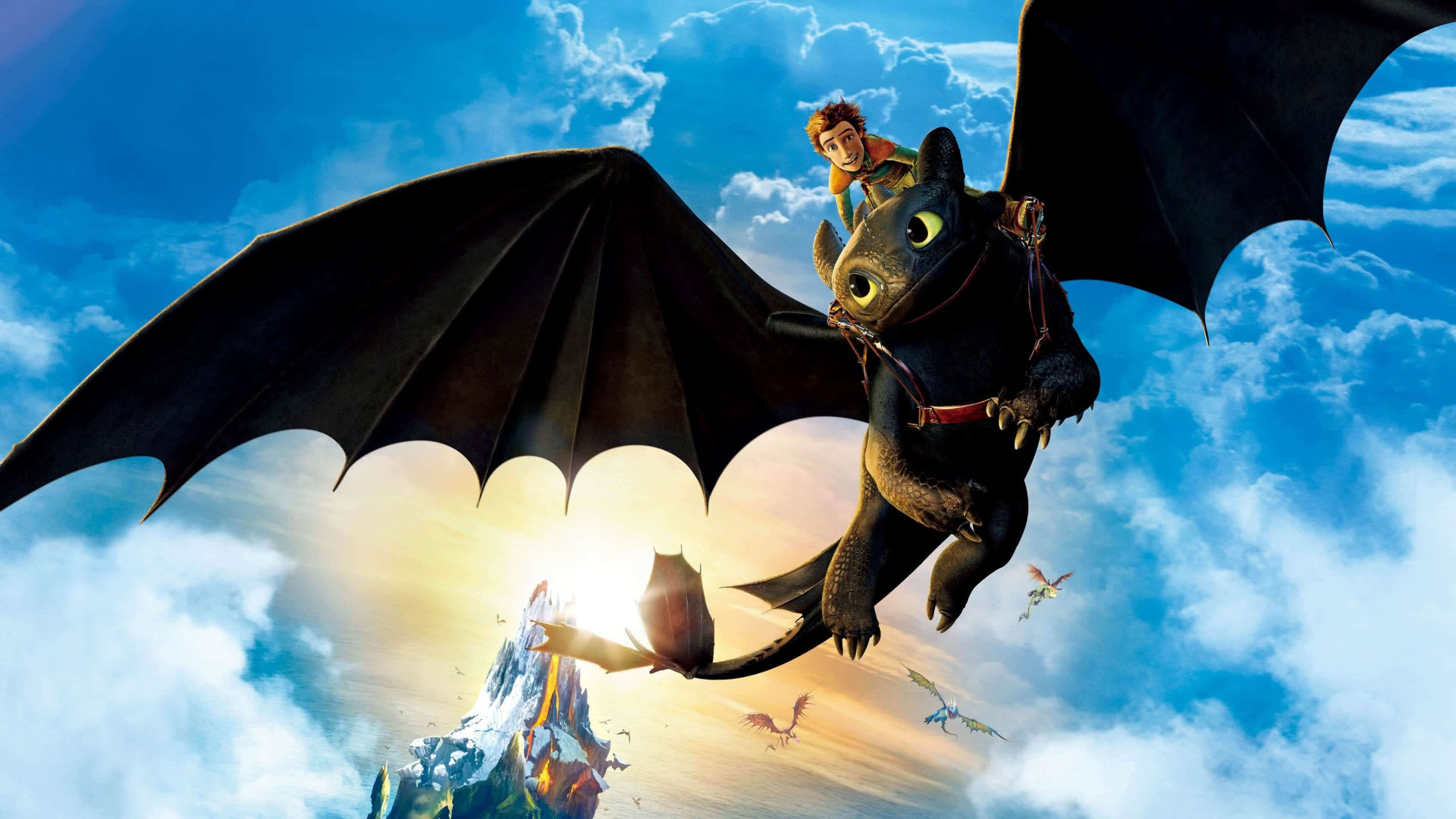 How to Train Your Dragon: The Hidden World wallpaper 1920x1080