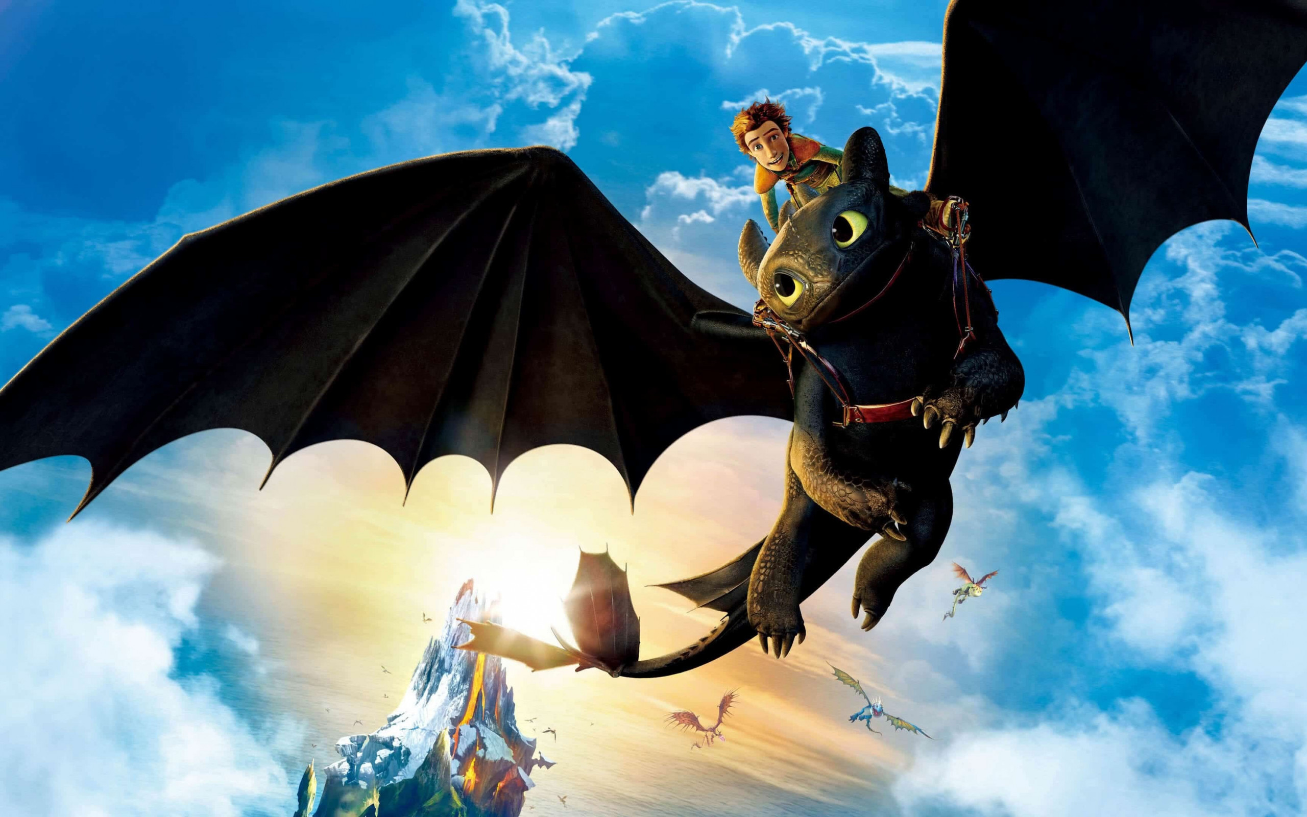 How to Train Your Dragon: The Hidden World wallpaper 2560x1600