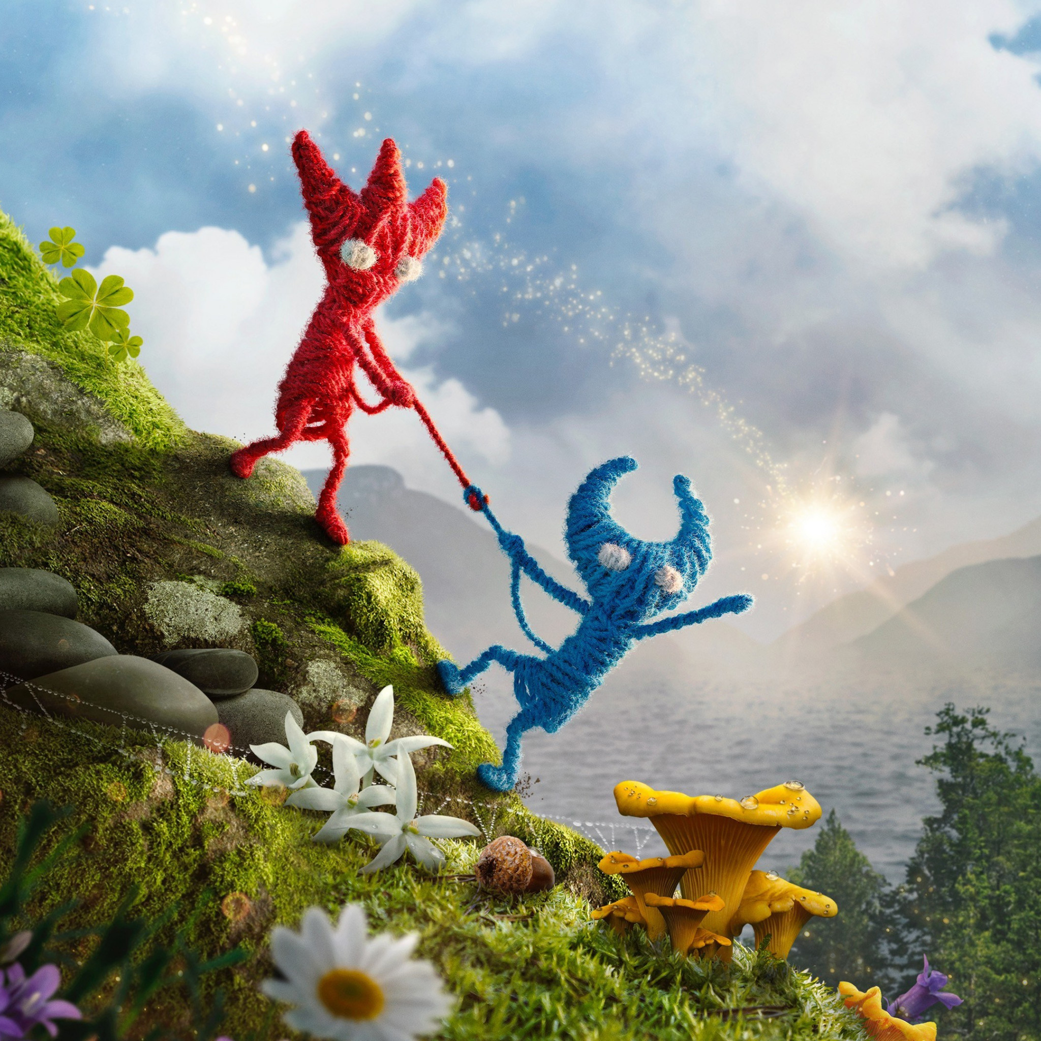 Unravel 2 wallpaper 2048x2048