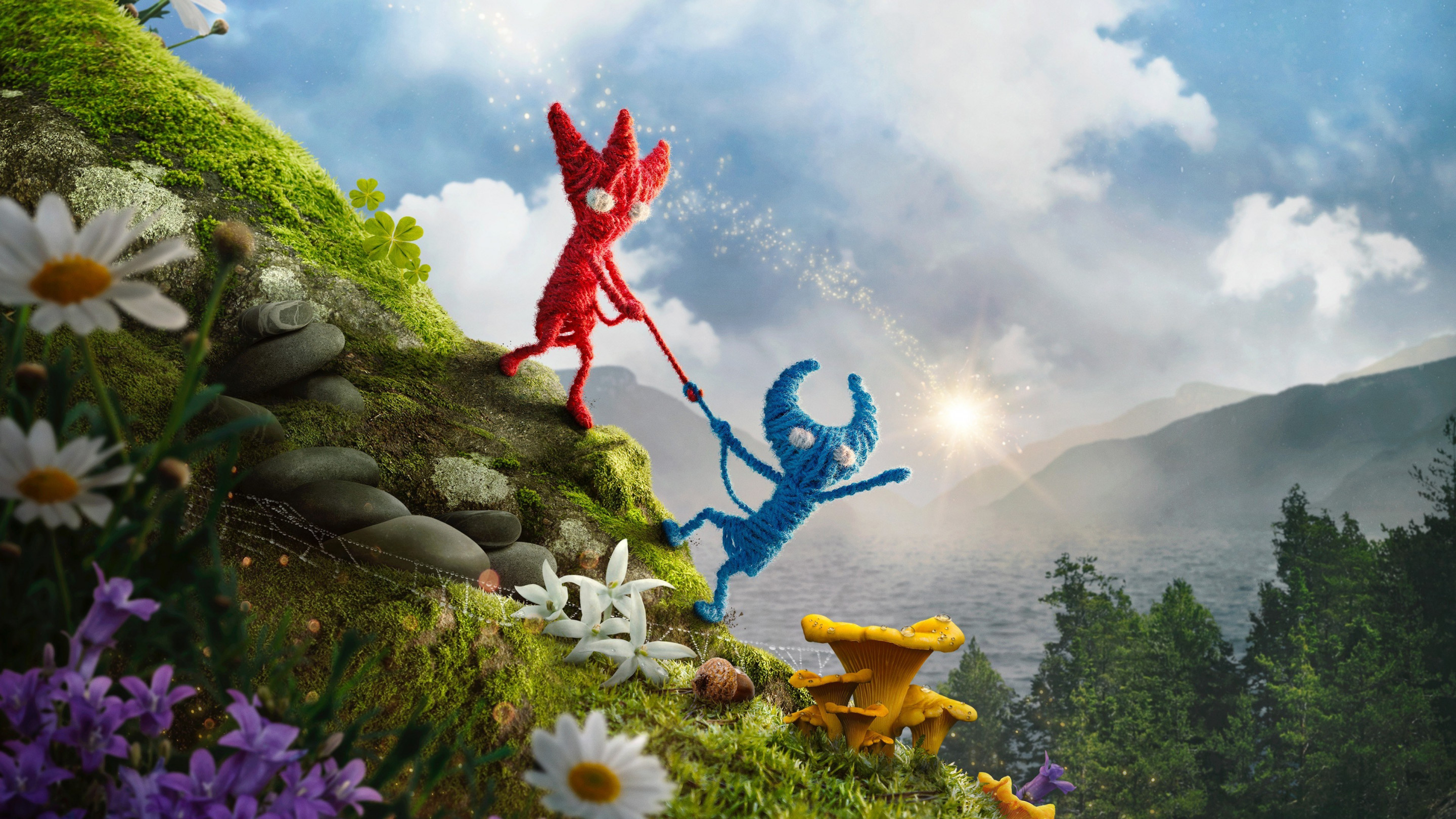 Unravel 2 wallpaper 2880x1620