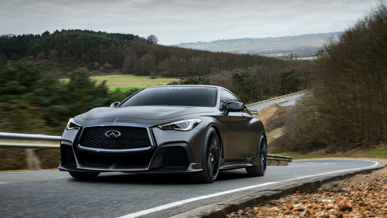 Infiniti Q60 Project Black S wallpaper 1280x720