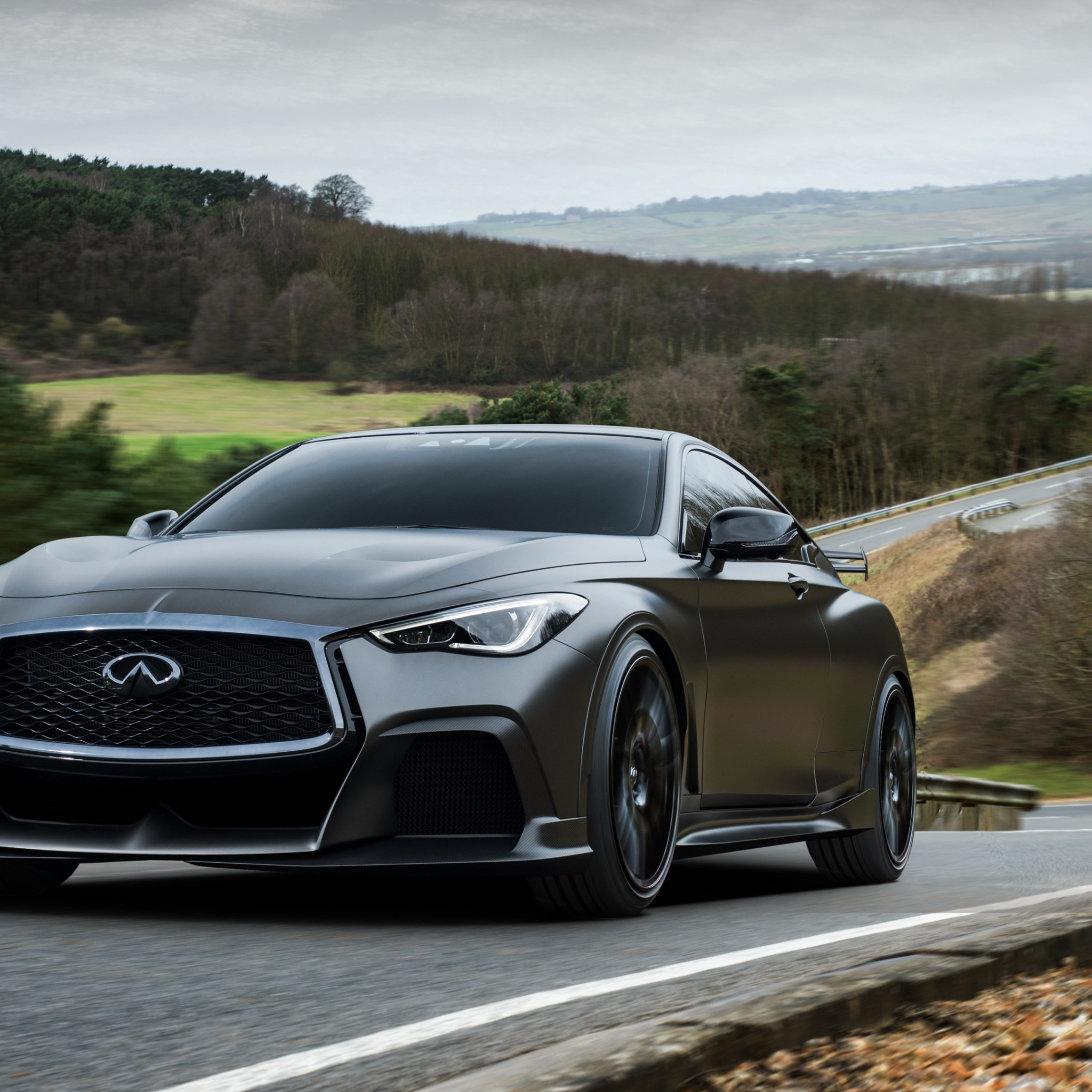 Infiniti Q60 Project Black S wallpaper 2048x2048