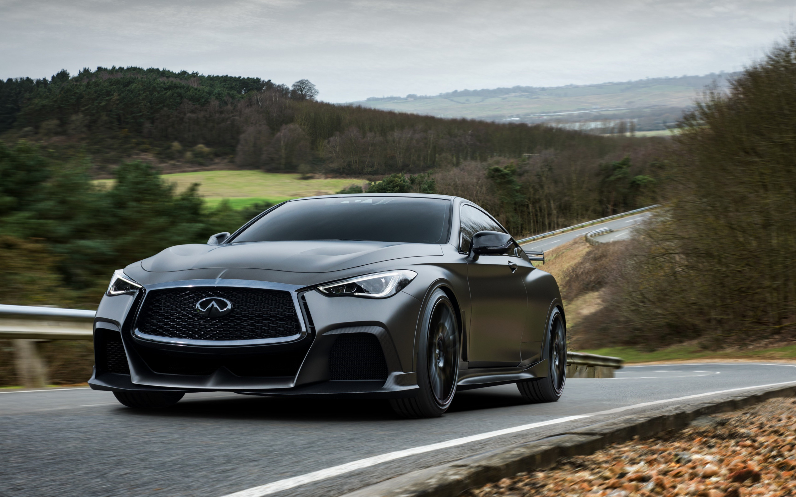 Infiniti Q60 Project Black S wallpaper 2560x1600