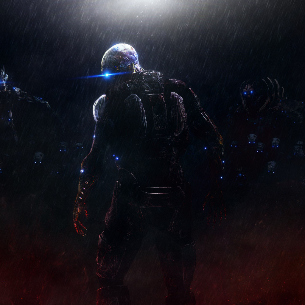 Mass Effect: Ascension | 1024x1024 wallpaper