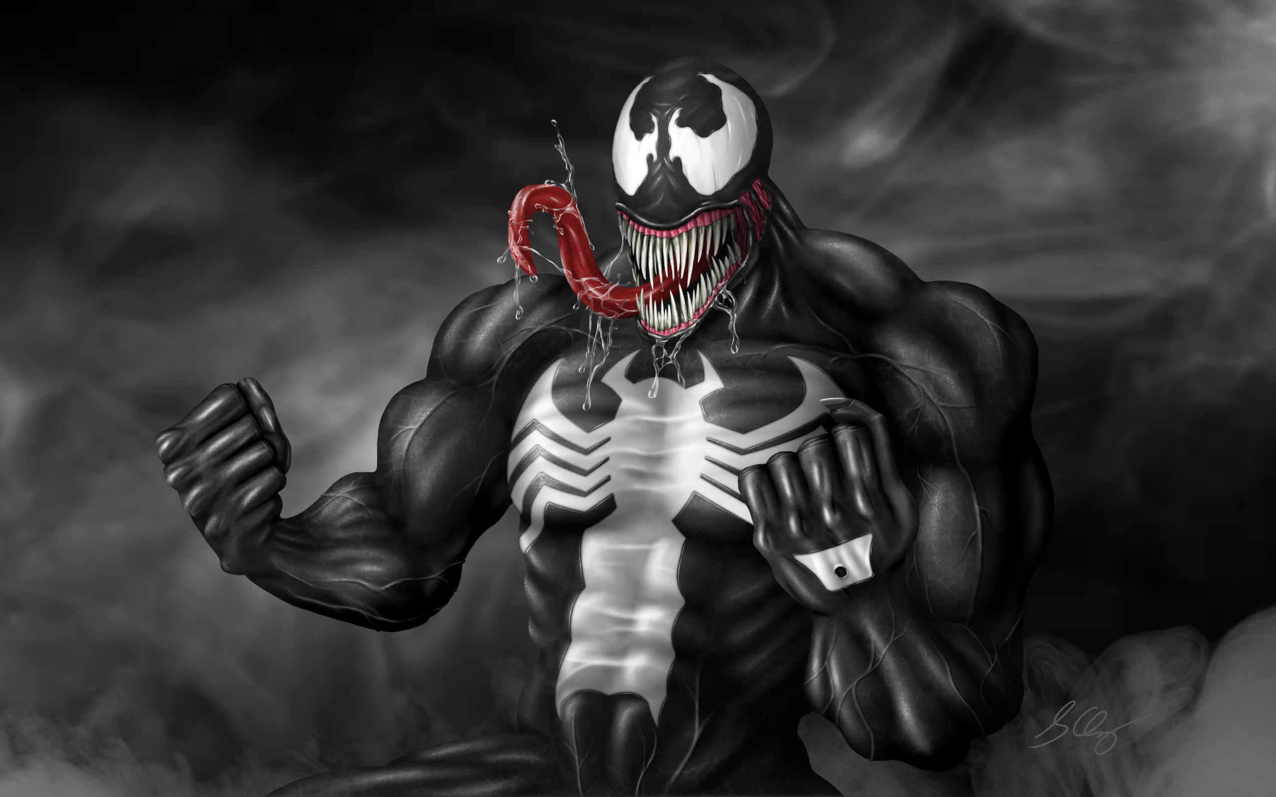 Venom fan art | 2560x1600 wallpaper