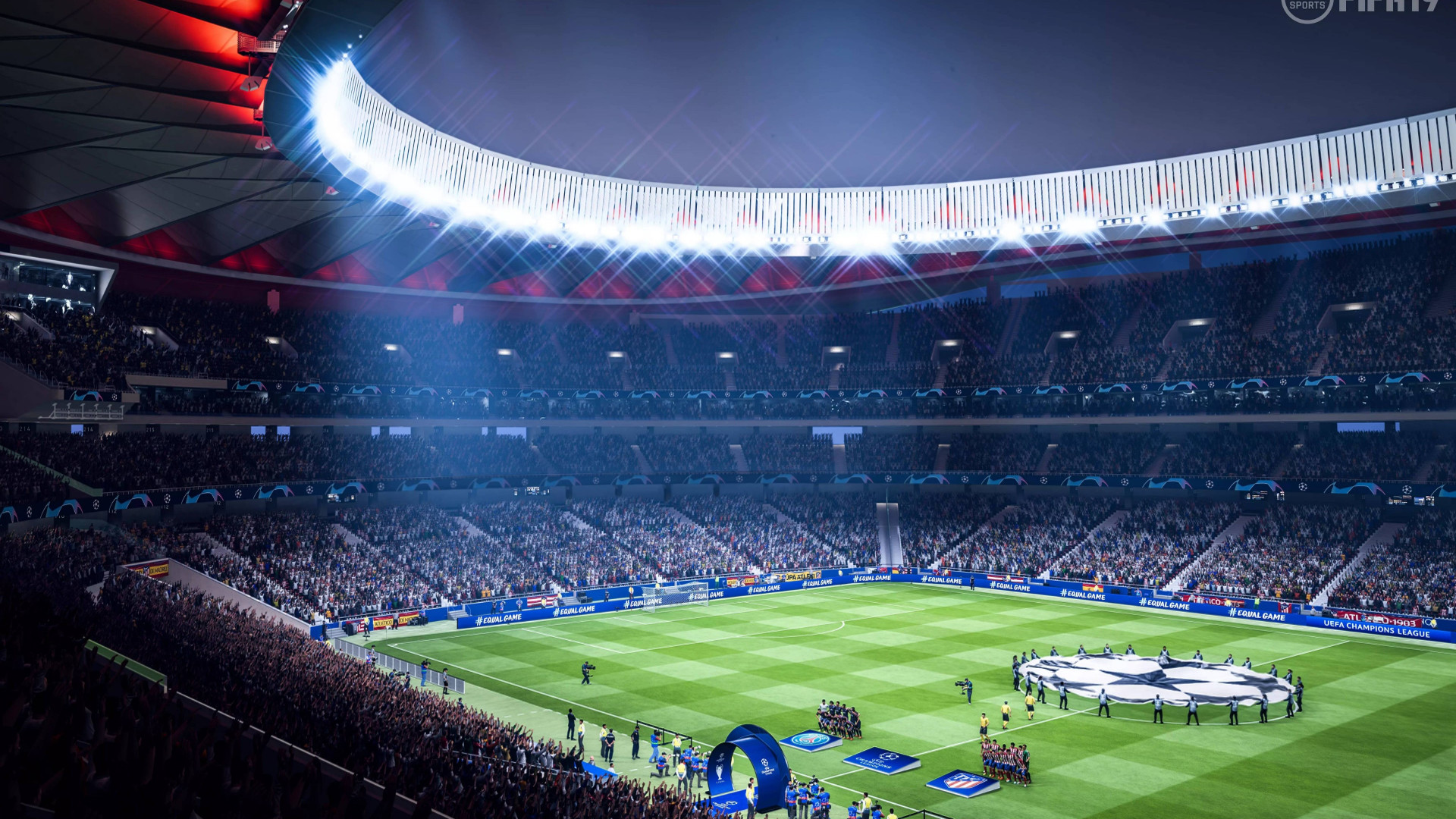 Download wallpaper: Fifa 19 stadium 1920x1080