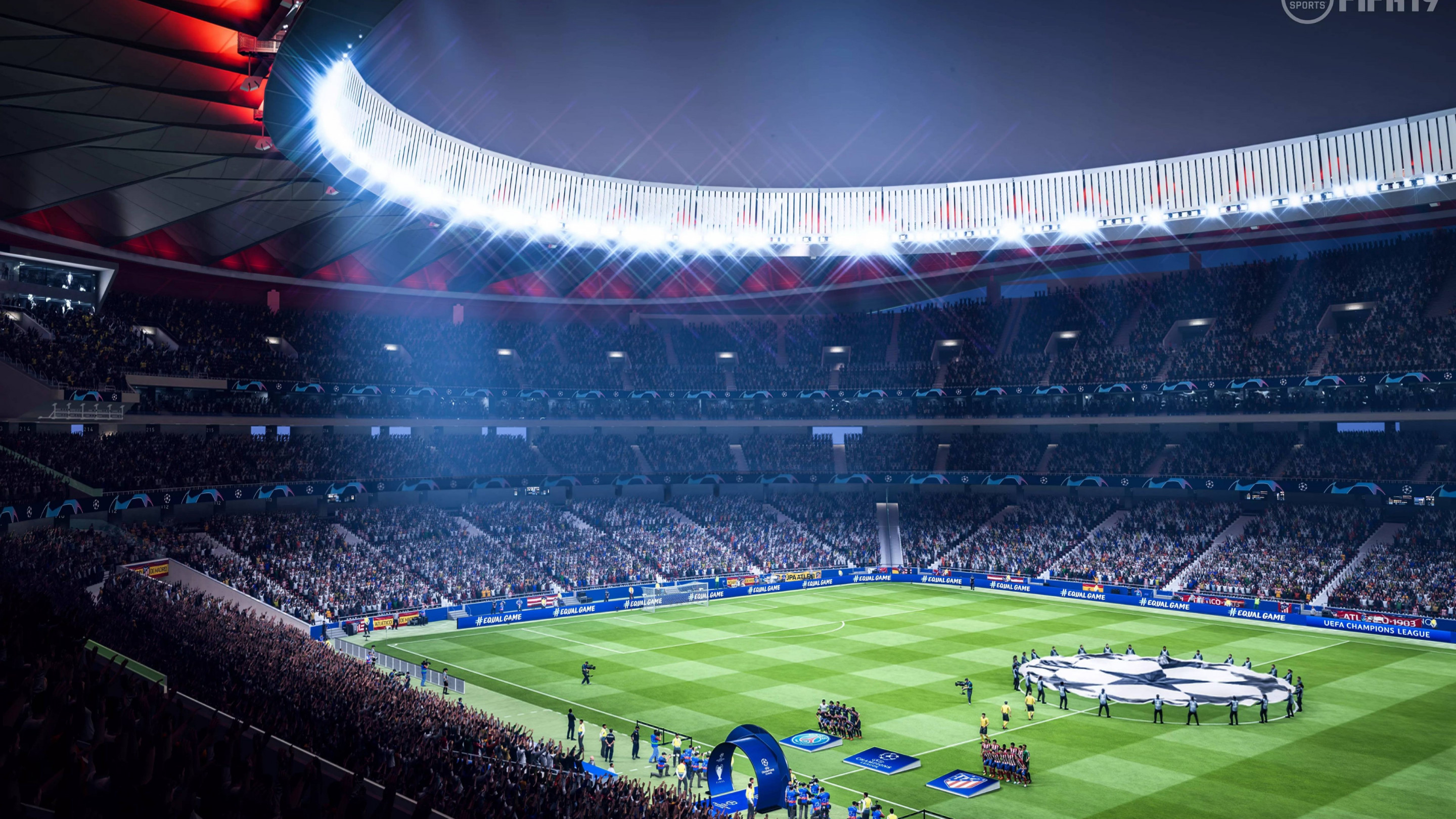 Fifa 19 stadium wallpaper 2880x1620