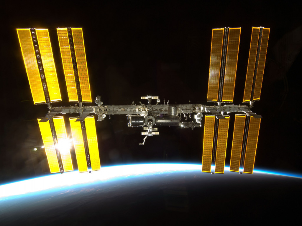 International Space Station wallpaper 1024x768