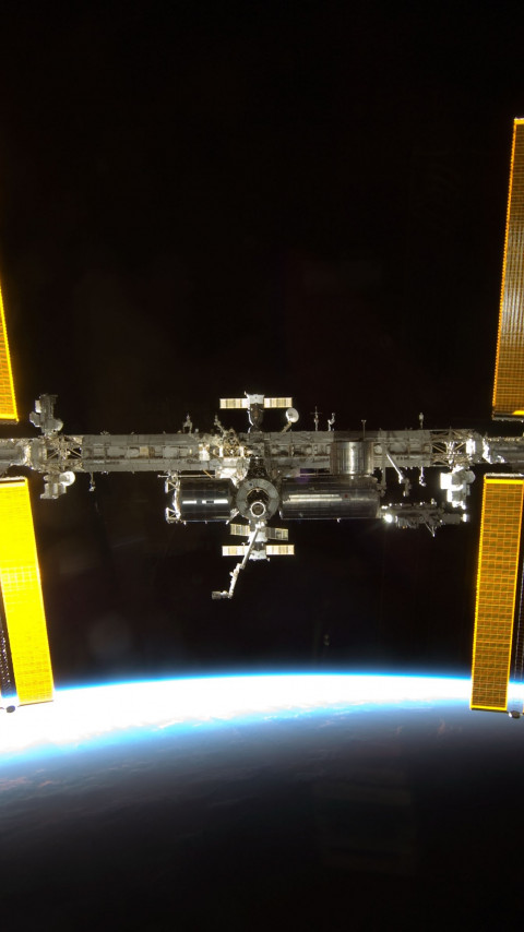 International Space Station | 480x854 wallpaper