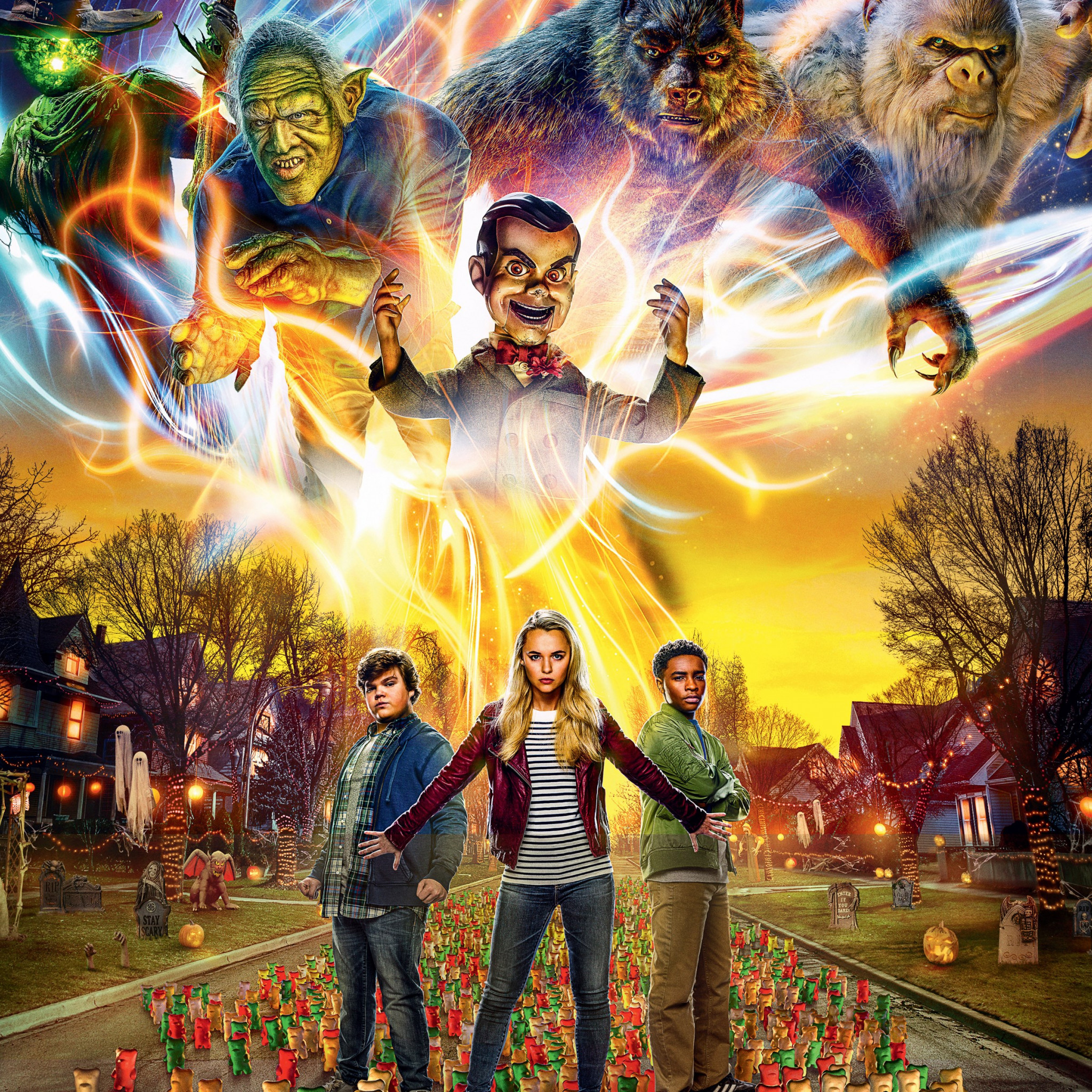 Goosebumps 2: Haunted Halloween wallpaper 2048x2048