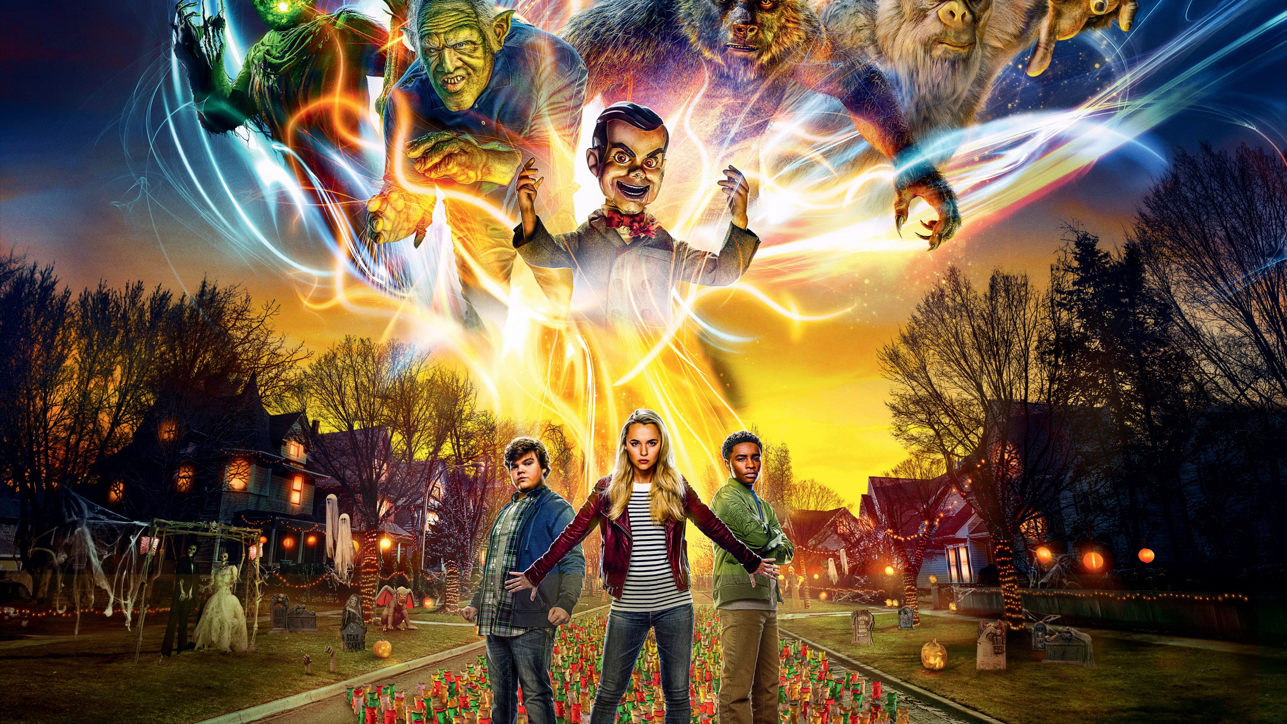 Goosebumps 2: Haunted Halloween wallpaper 2560x1440