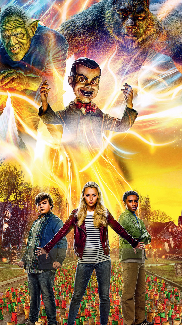Goosebumps 2: Haunted Halloween | 750x1334 wallpaper