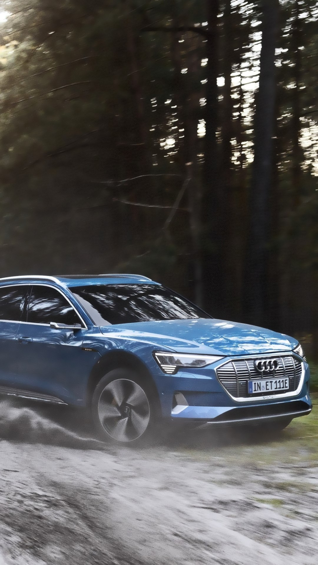 Audi E Tron wallpaper 1080x1920