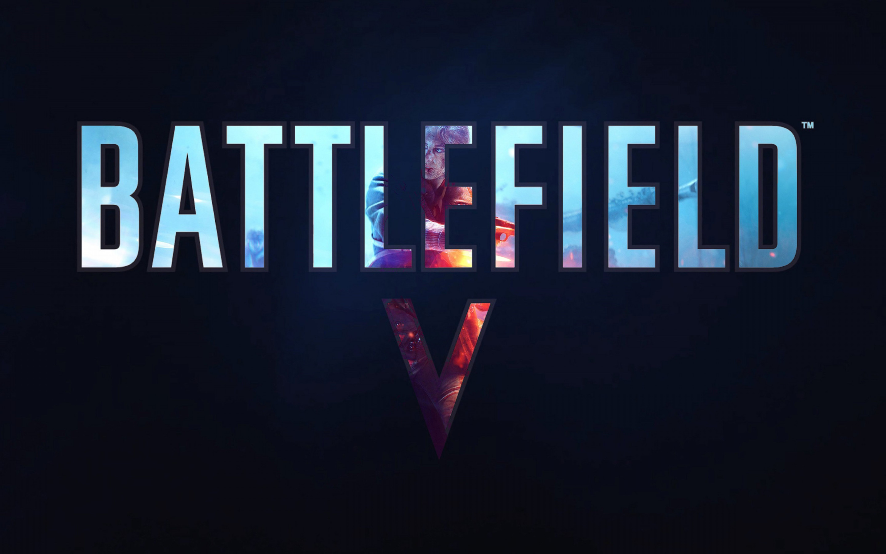 Battlefield V poster wallpaper 2880x1800