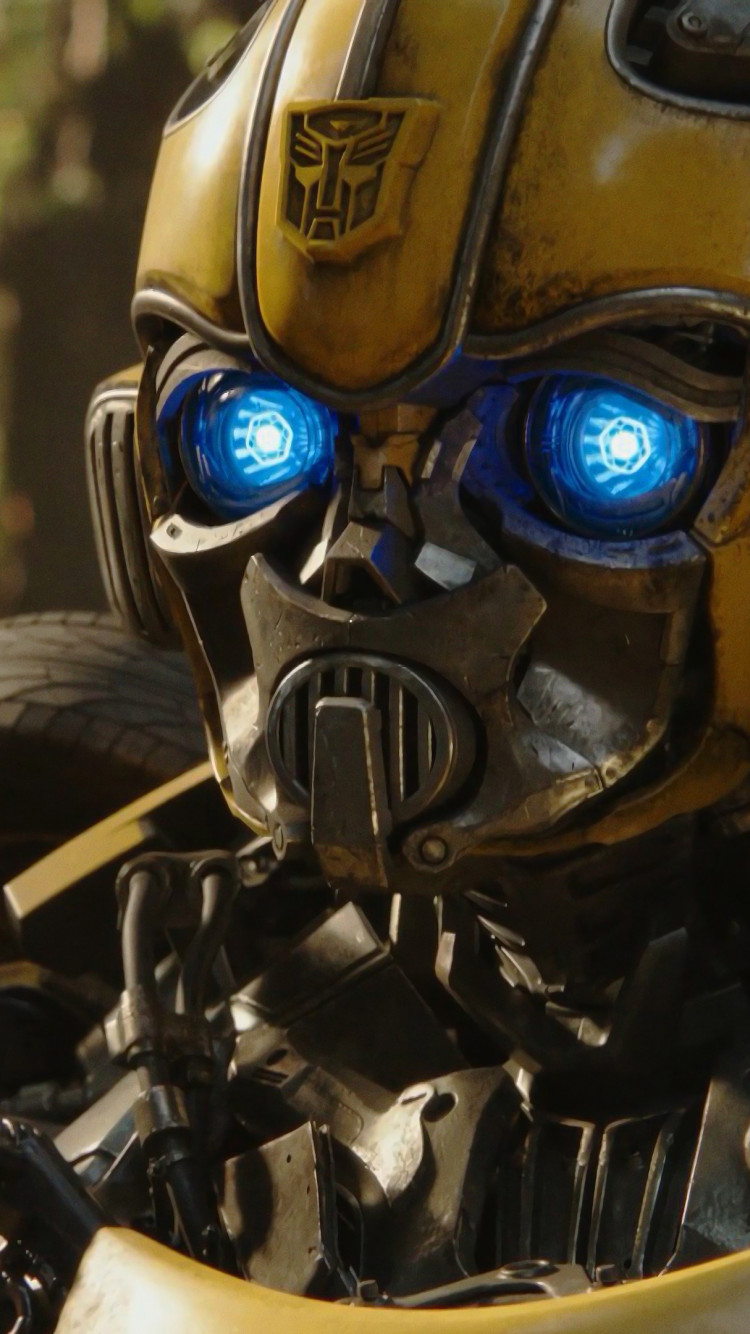 Bumblebee 2018 wallpaper 750x1334