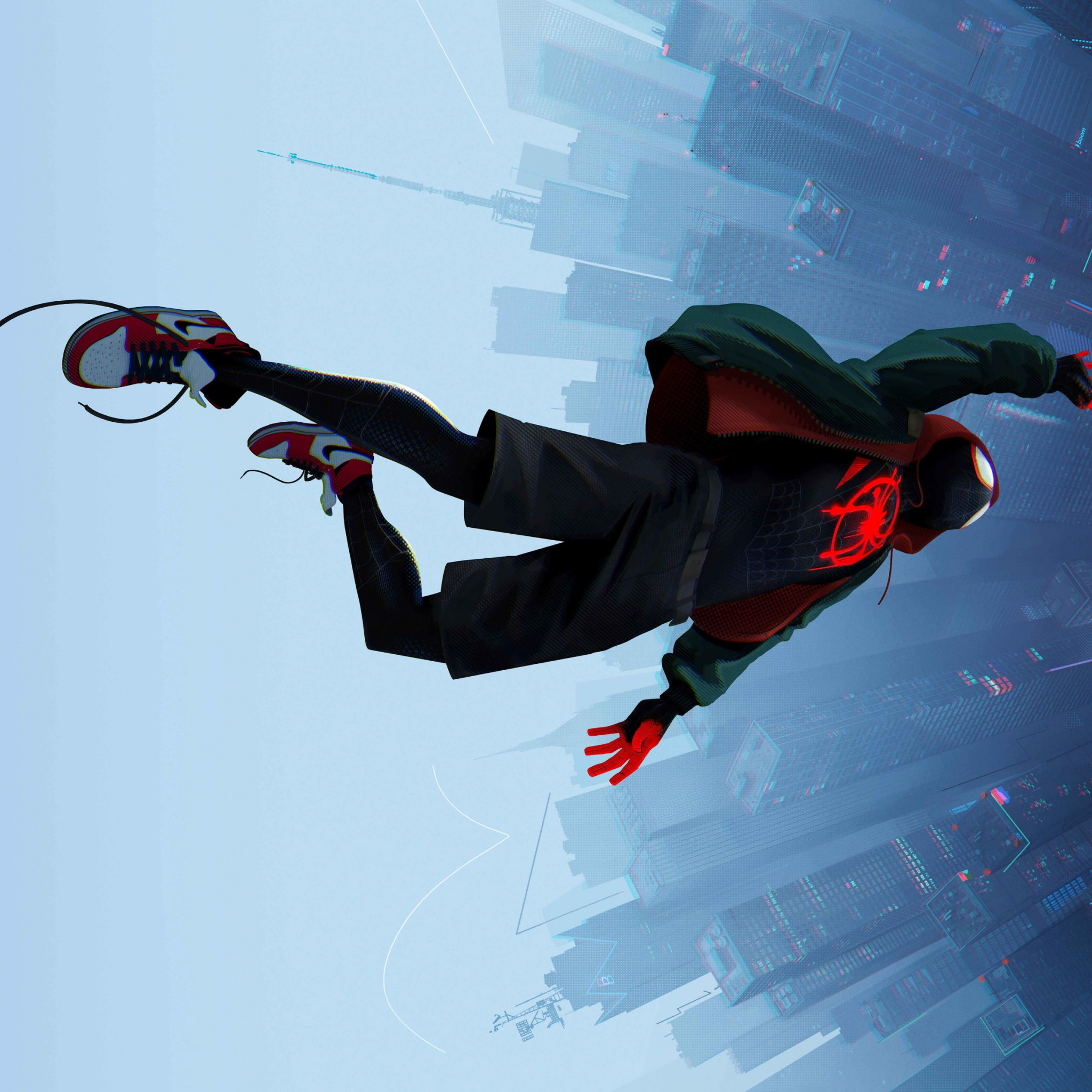 Spider Man: Into the Spider Verse 2018 wallpaper 2048x2048