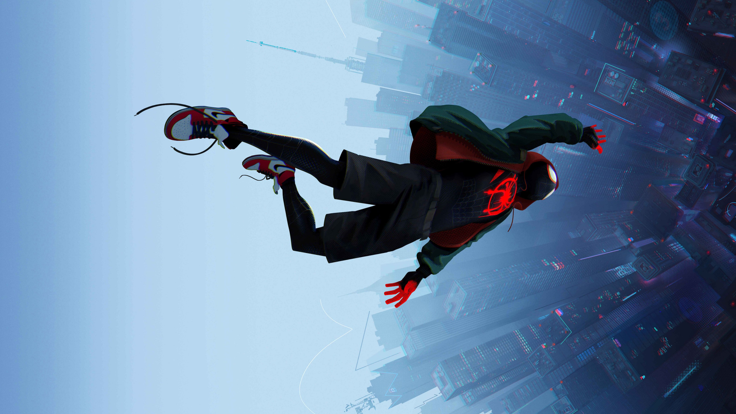 Spider Man: Into the Spider Verse 2018 wallpaper 2560x1440