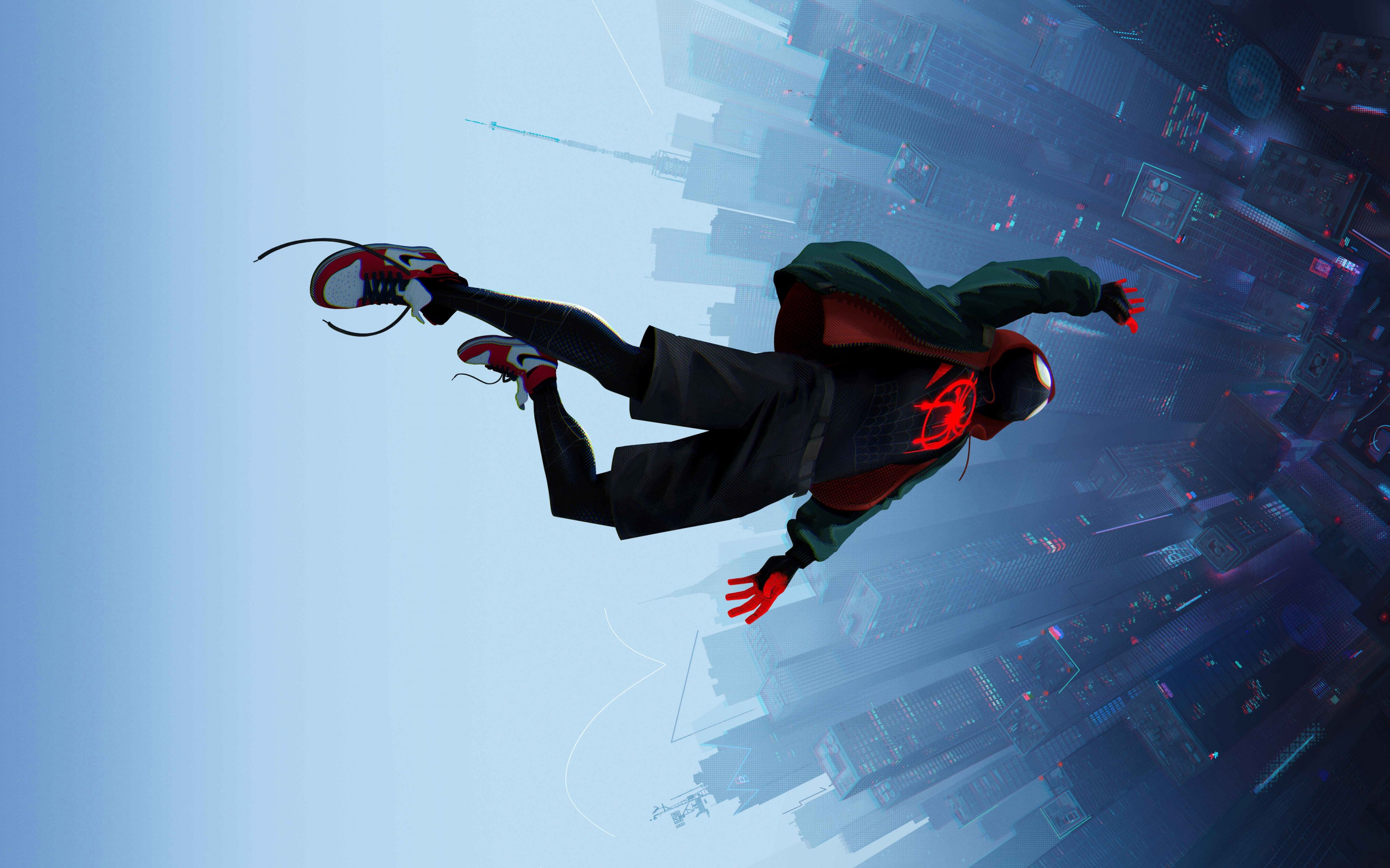 Spider Man: Into the Spider Verse 2018 wallpaper 2880x1800