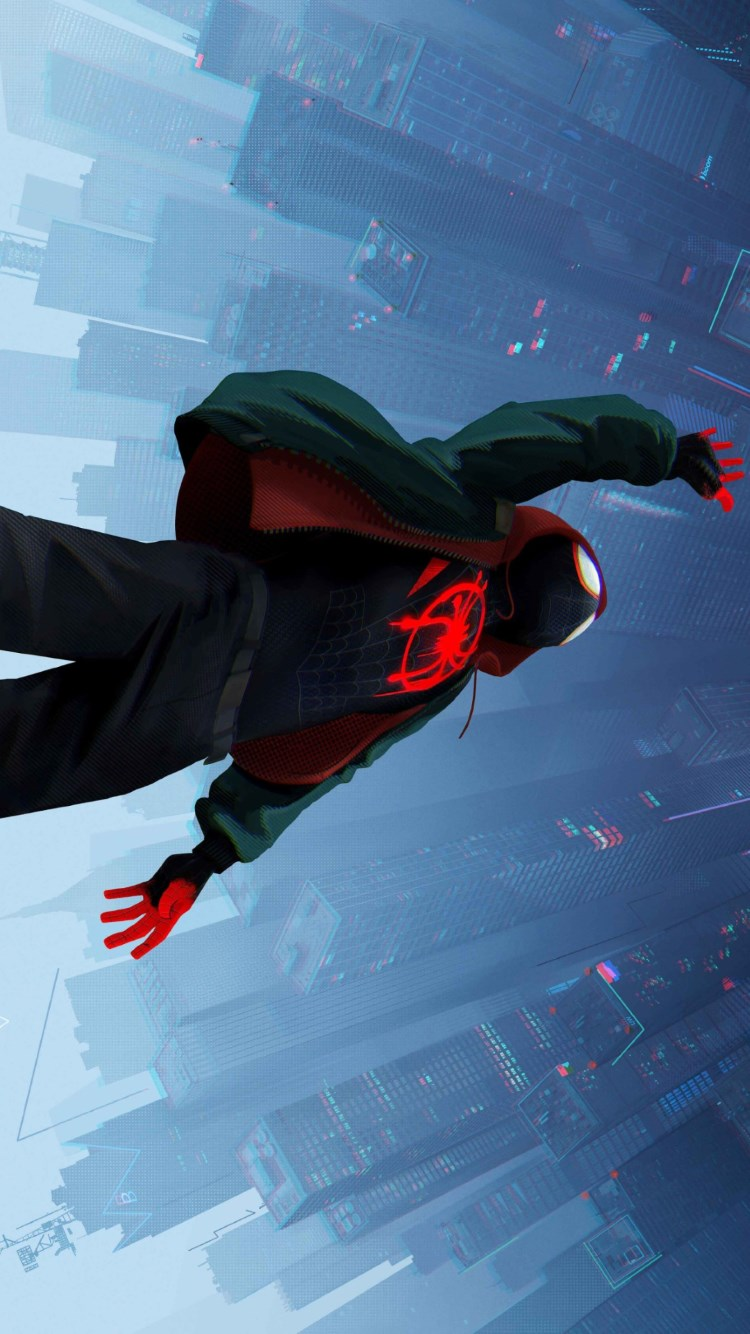 Spider Man: Into the Spider Verse 2018 wallpaper 750x1334