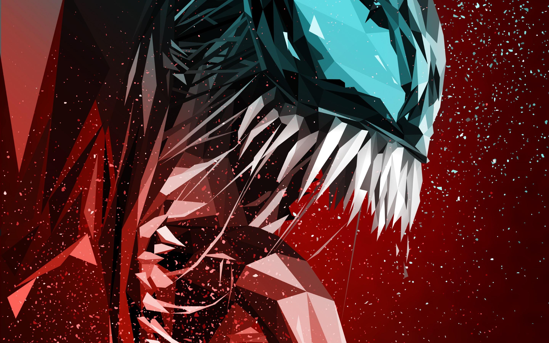 Download Wallpaper Venom Digital Art Poster 2880x1800