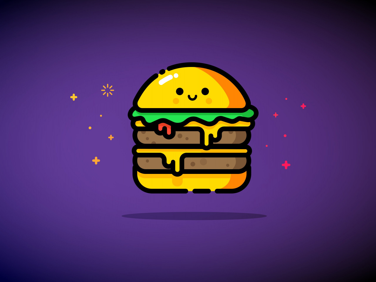 Double cheese wallpaper 1280x960
