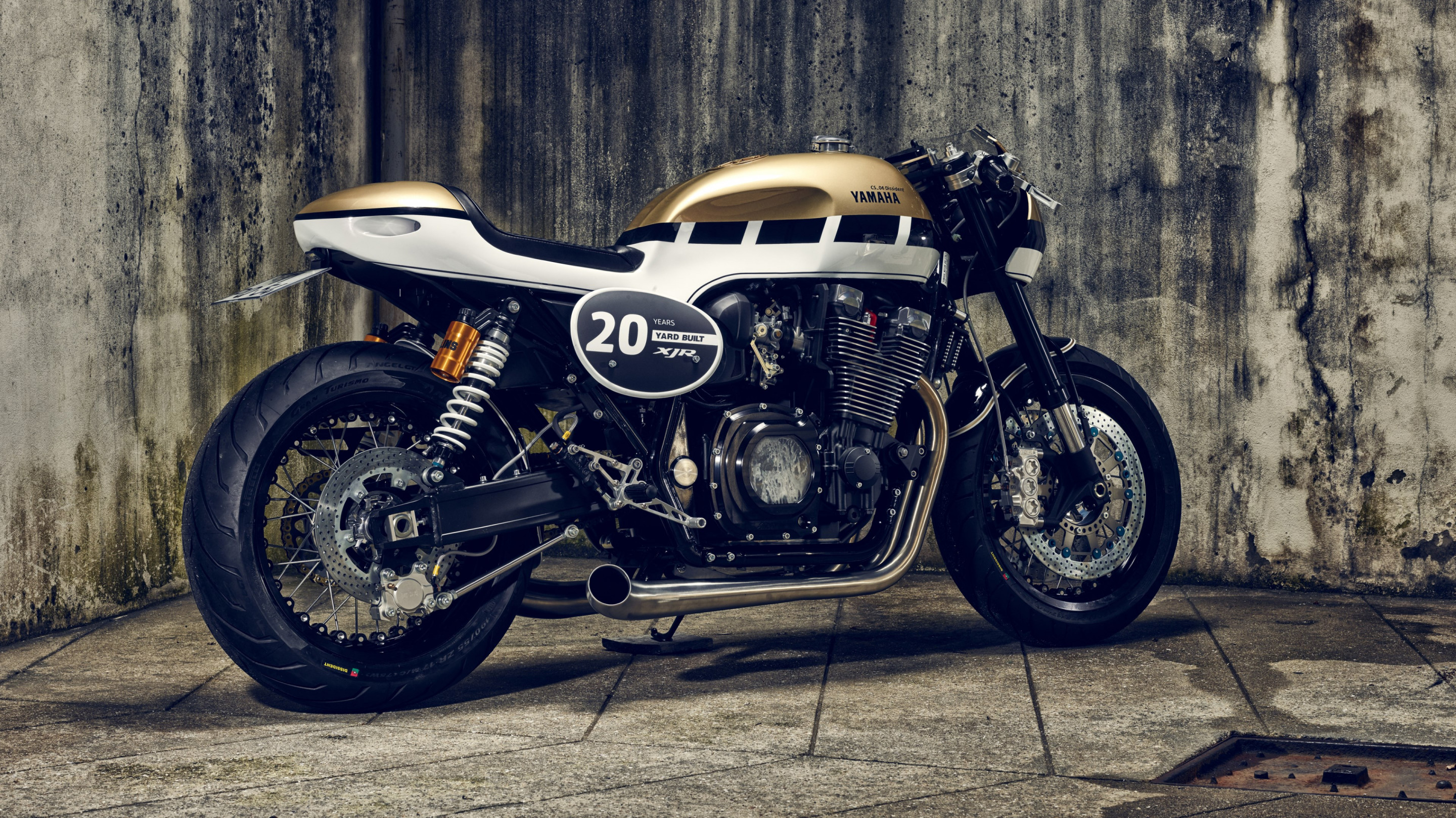 Yamaha XJR1300 wallpaper 2880x1620