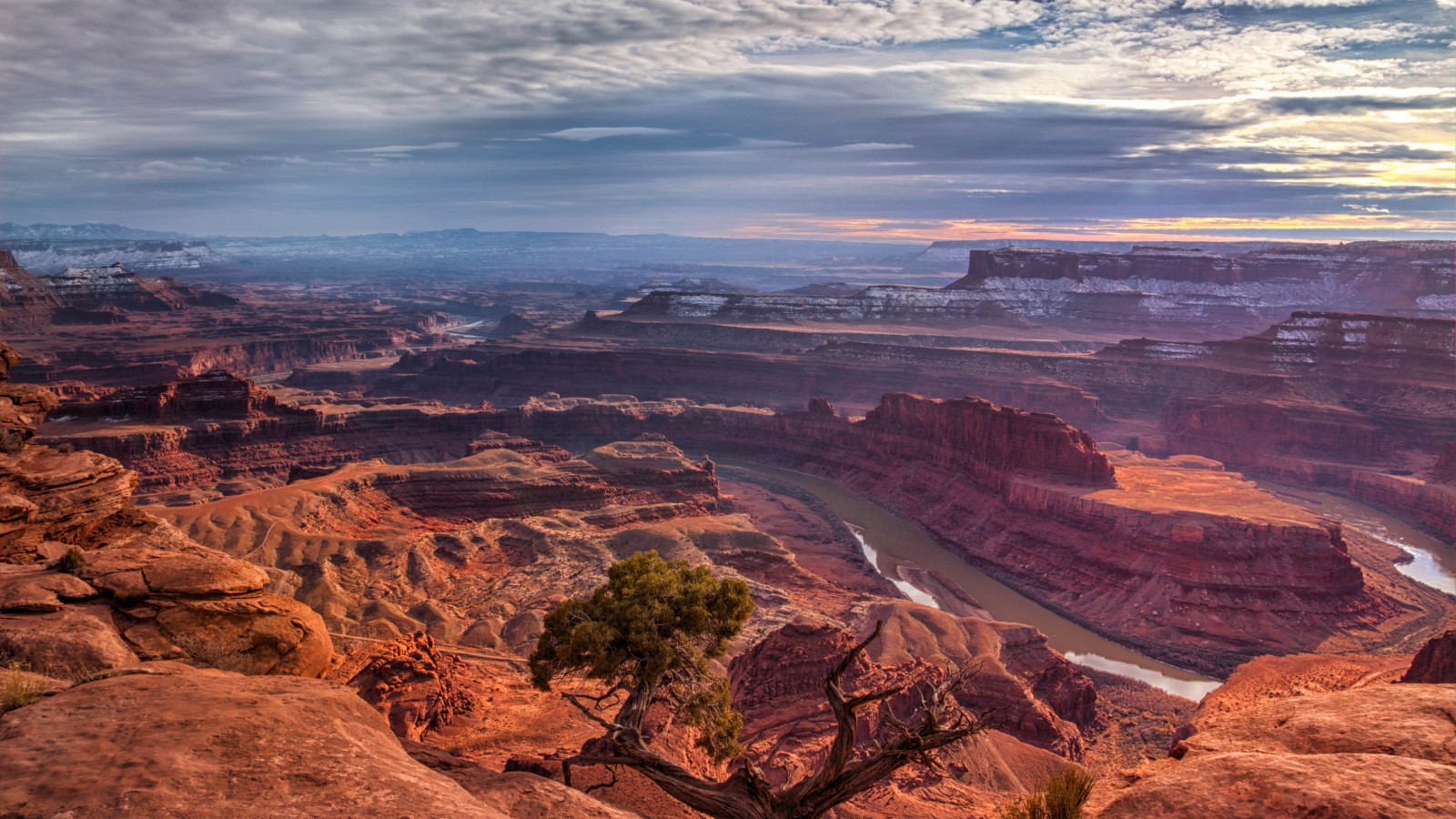 Dead Horse Point, Utah wallpaper 1600x900