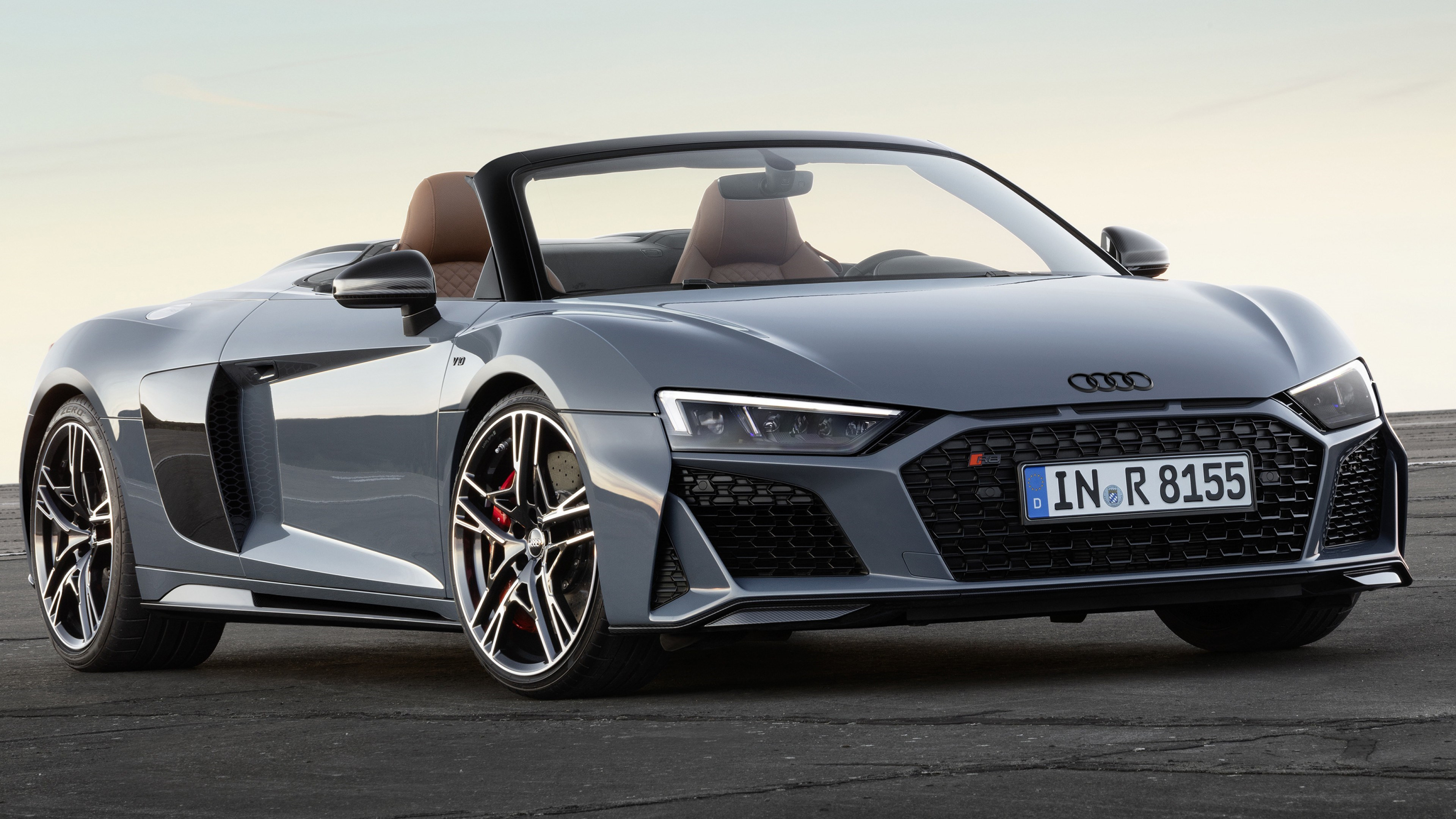 Audi R8 V10 Spyder | 3840x2160 wallpaper