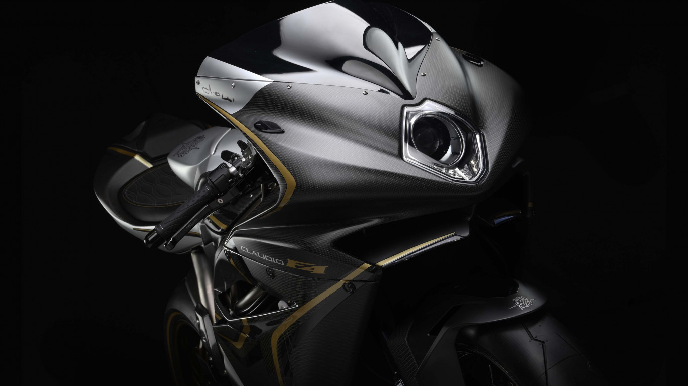 MV Agusta F4 Claudio wallpaper 1366x768