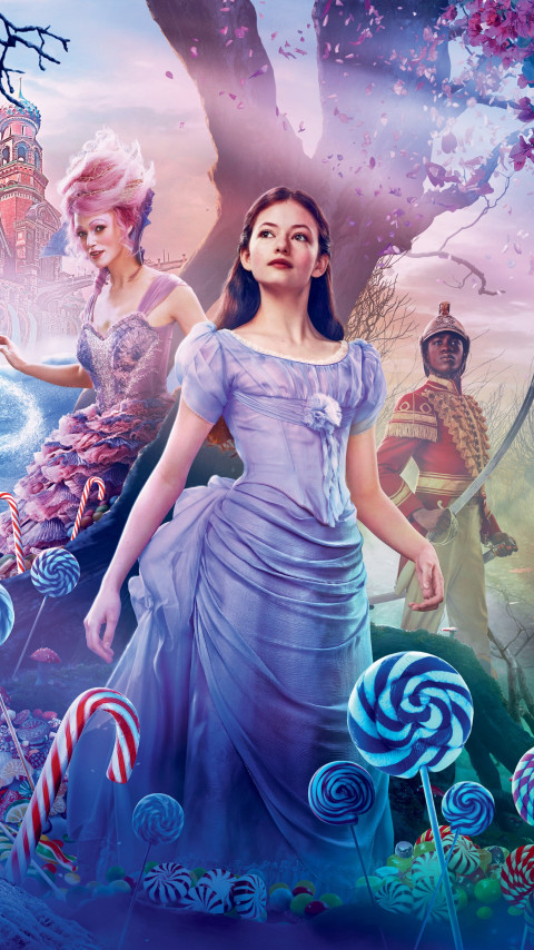 The Nutcracker and the Four Realms poster wallpaper 480x854