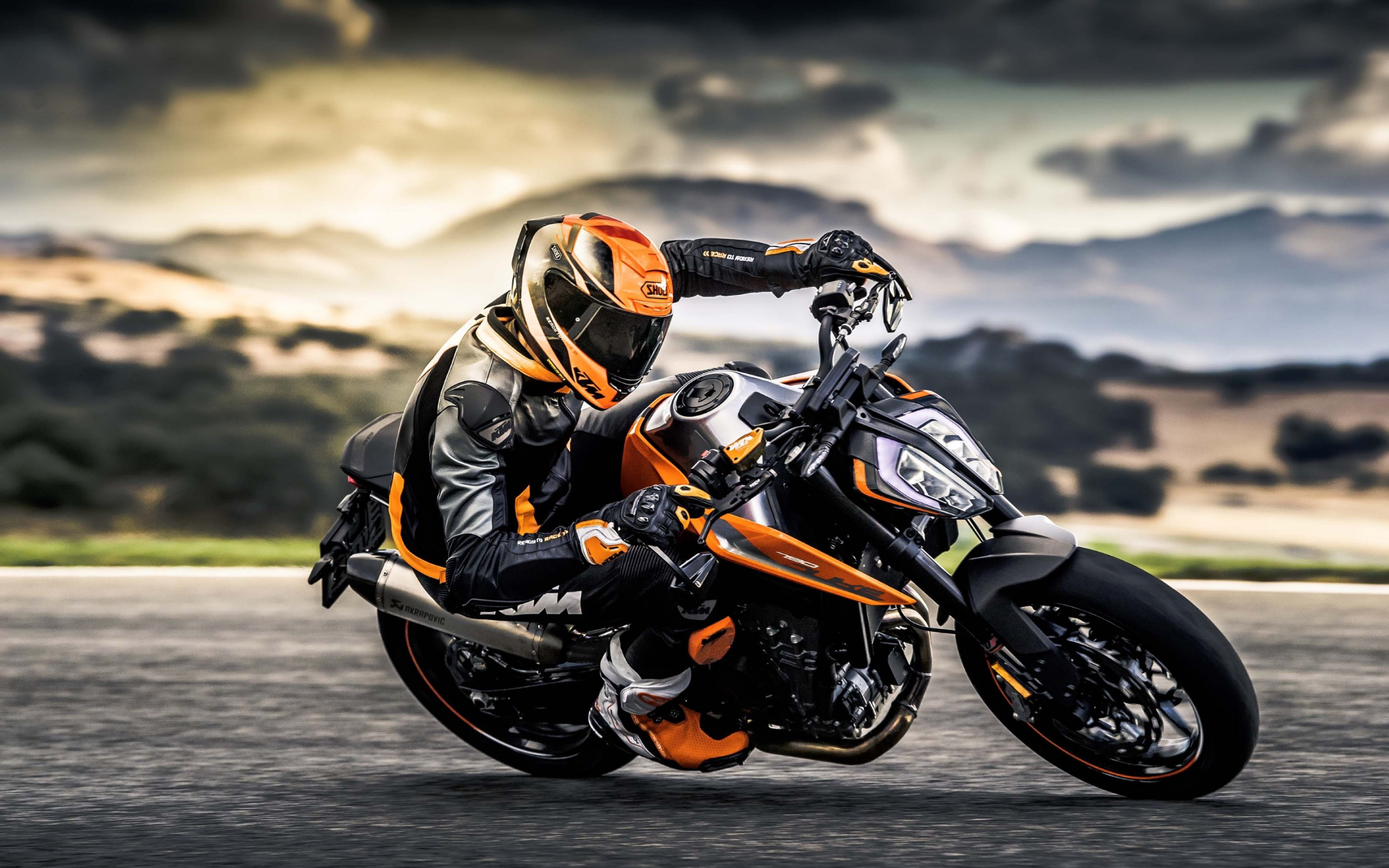 KTM 790 Duke wallpaper 2560x1600