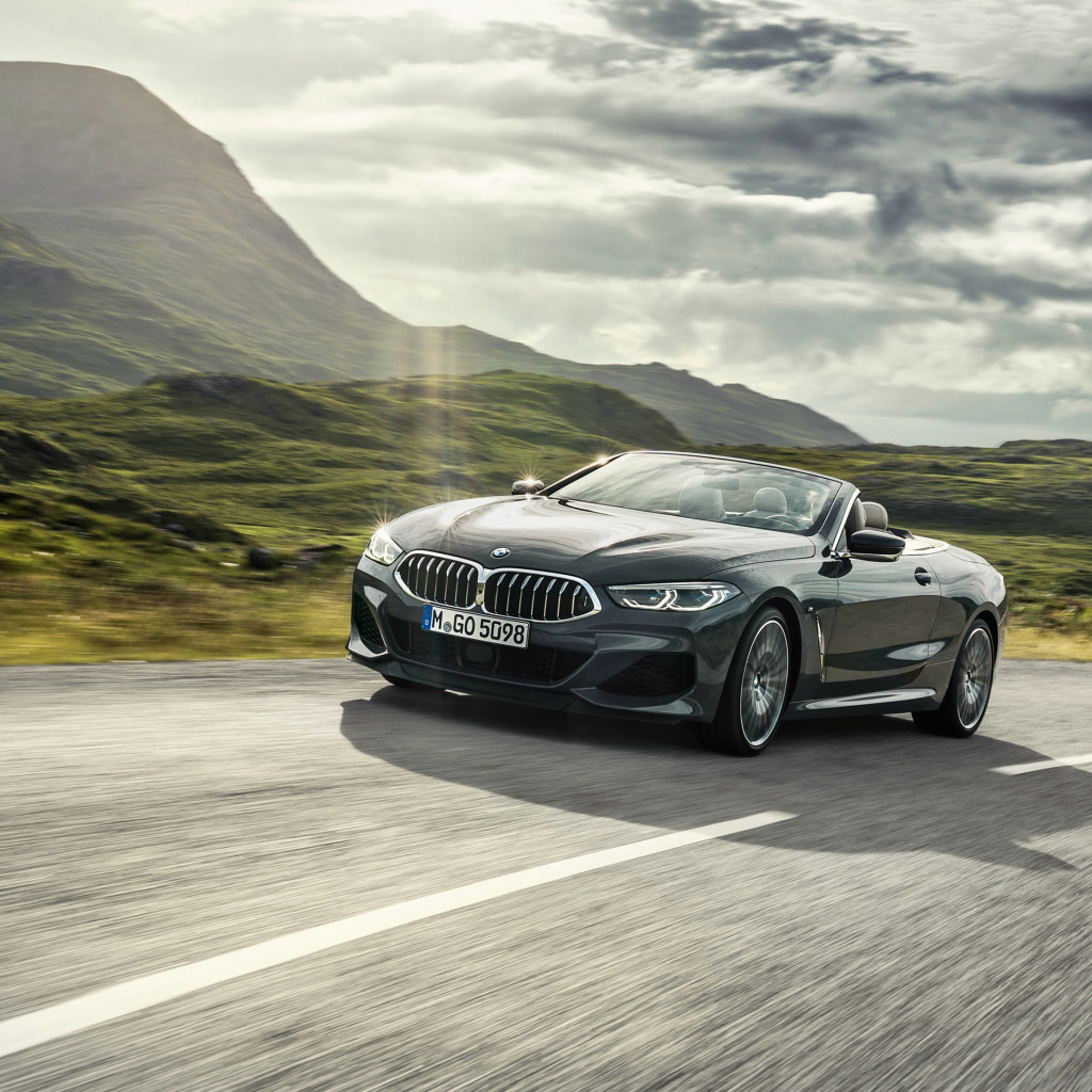 BMW 8 Series Convertible wallpaper 1024x1024
