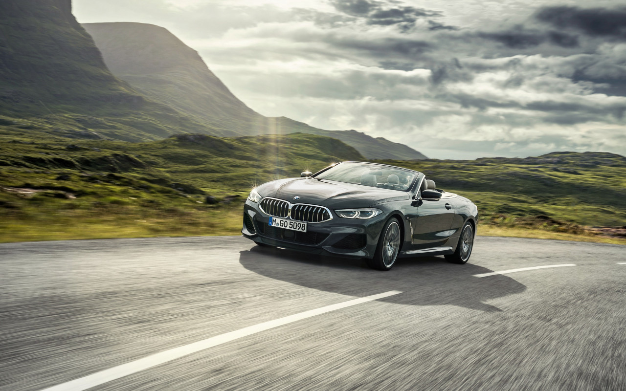 BMW 8 Series Convertible wallpaper 1280x800