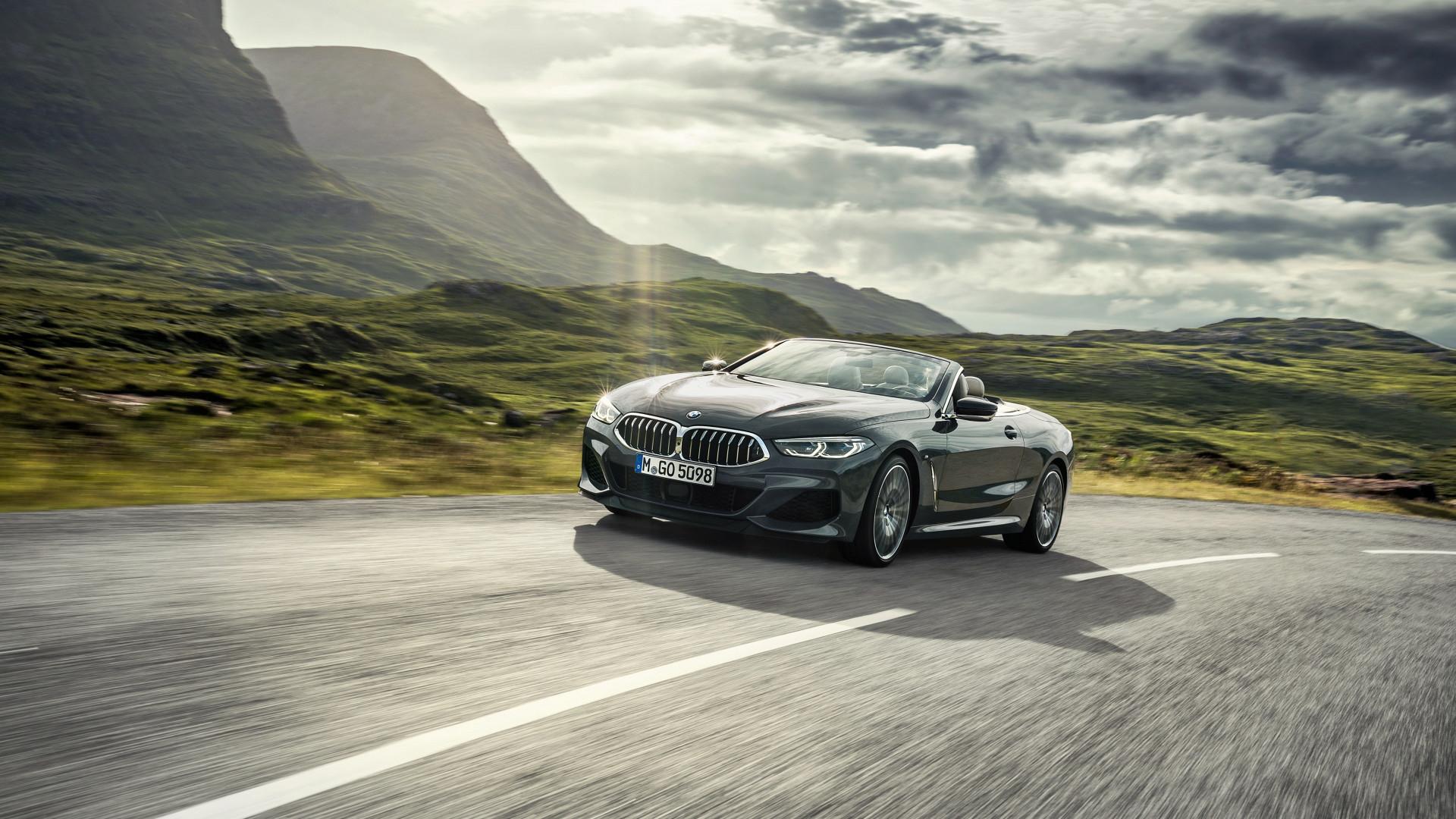 Download wallpaper: BMW 8 Series Convertible 1920x1080