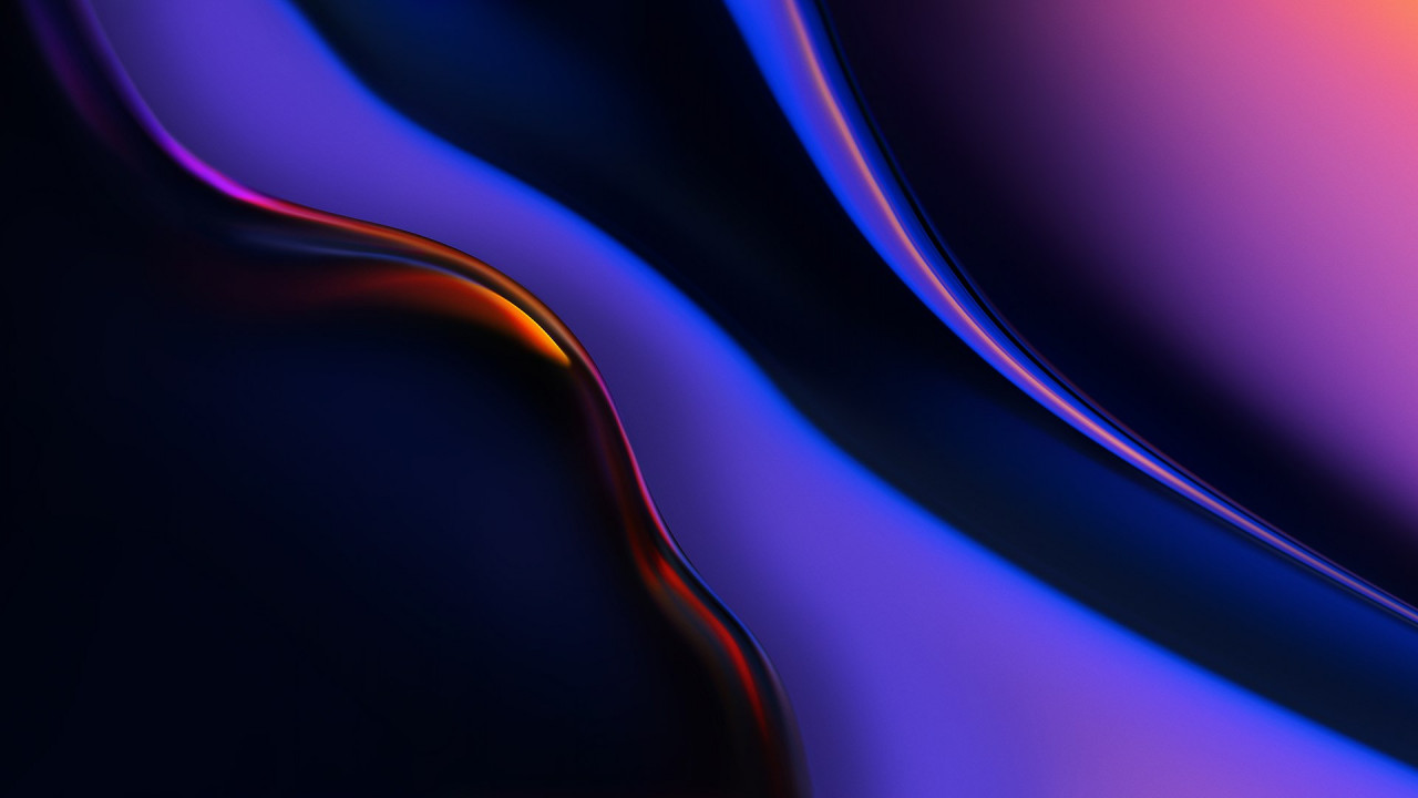 OnePlus 6T stock abstract wallpaper 1280x720