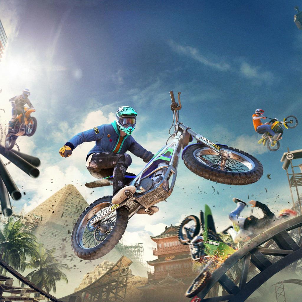 Trials Rising wallpaper 1024x1024