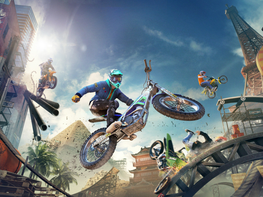 Trials Rising wallpaper 1024x768