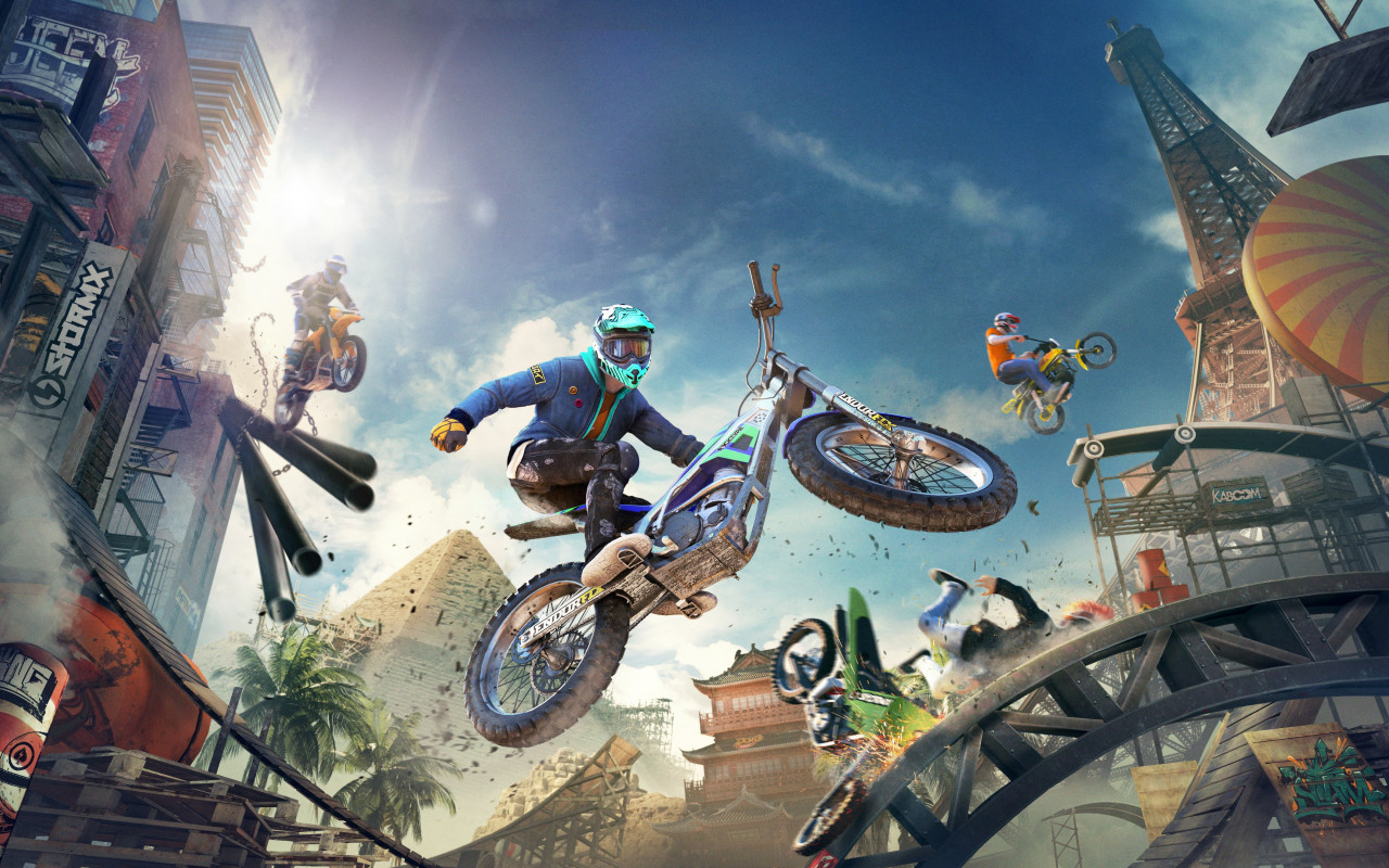 Trials Rising wallpaper 1280x800