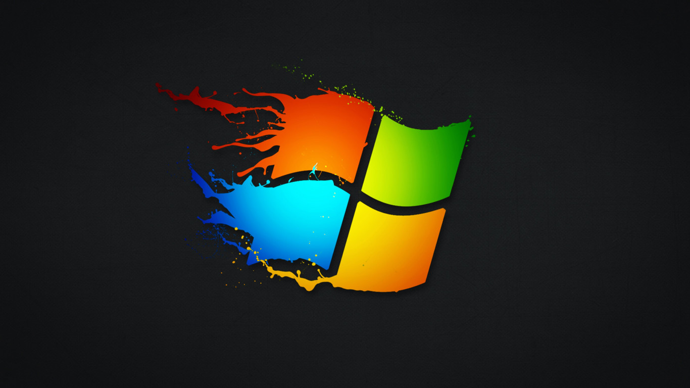 Windows splash | 1366x768 wallpaper
