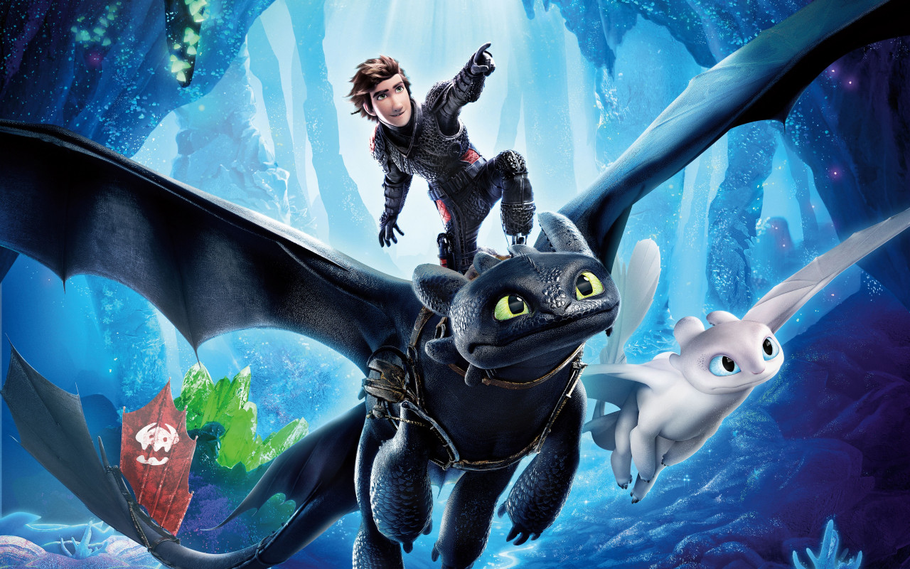 How to Train Your Dragon 2019 wallpaper 1280x800