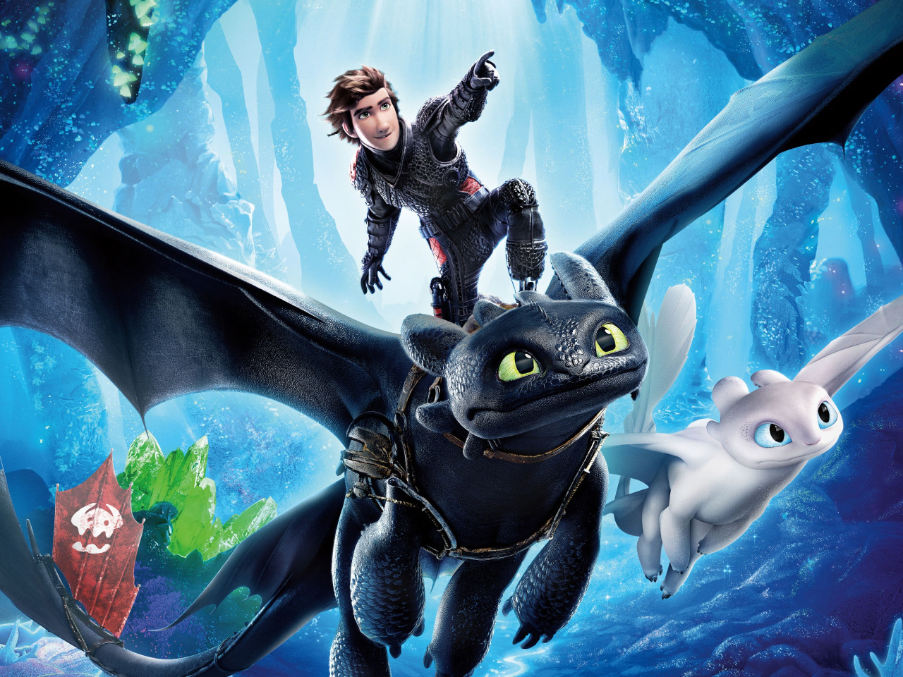 How to Train Your Dragon 2019 wallpaper 1280x960